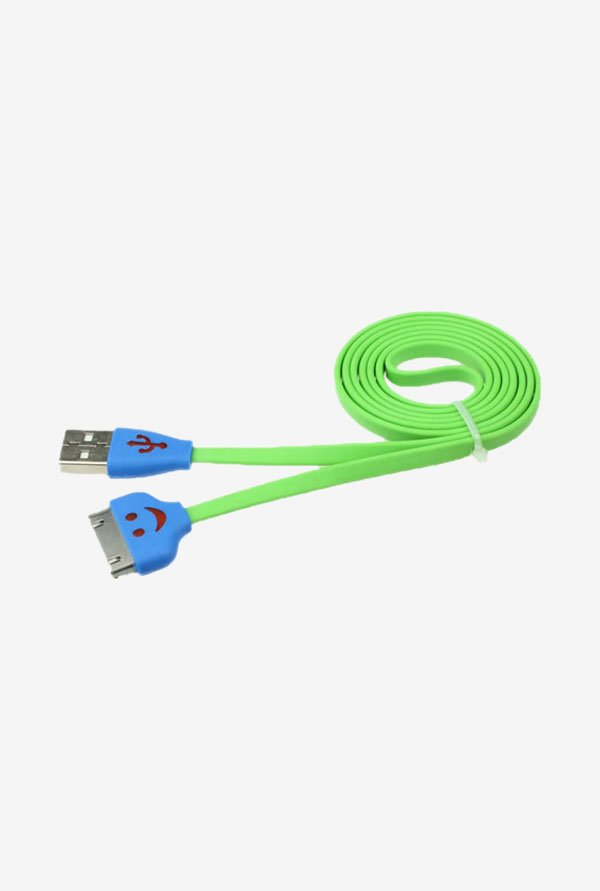 Callmate Flat Micro USB Data & Charging Cable Green