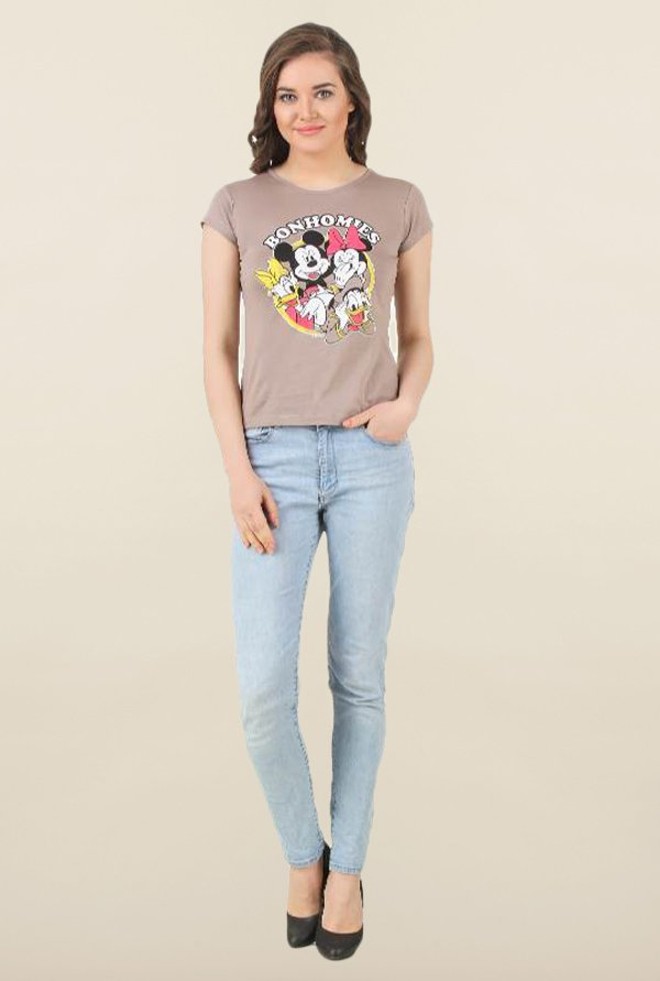 Mickey & Friends Porpoise Printed Top