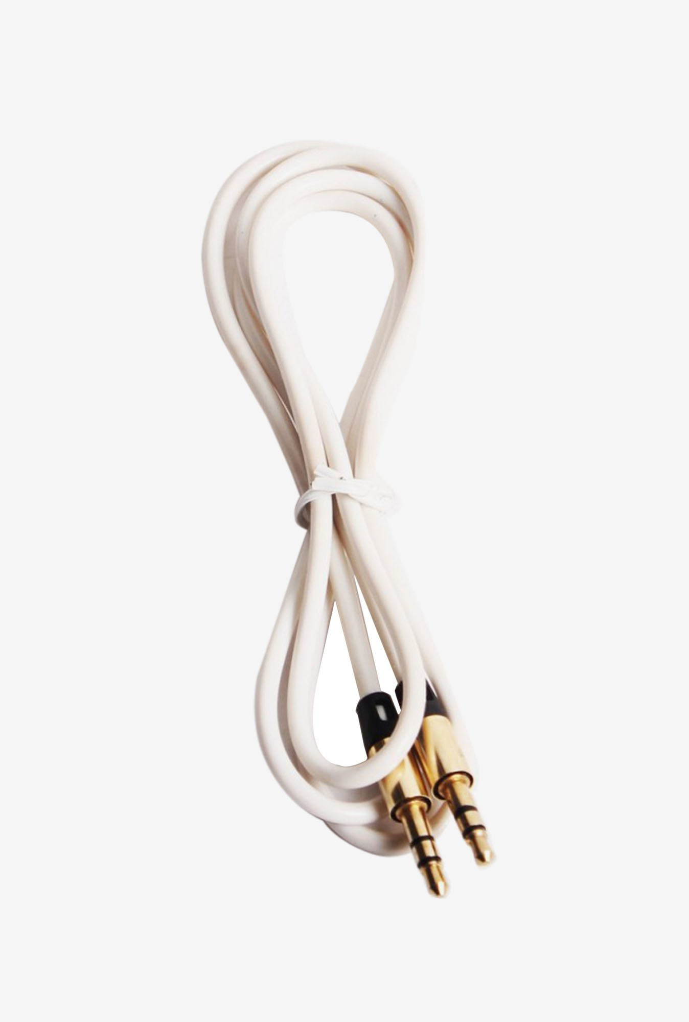 Callmate Metal AUX to AUX Cable White
