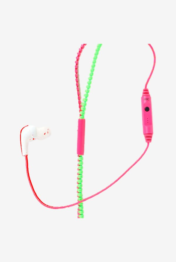 Callmate HFZZMICPKGN Stereo Headphone with Mic Pink