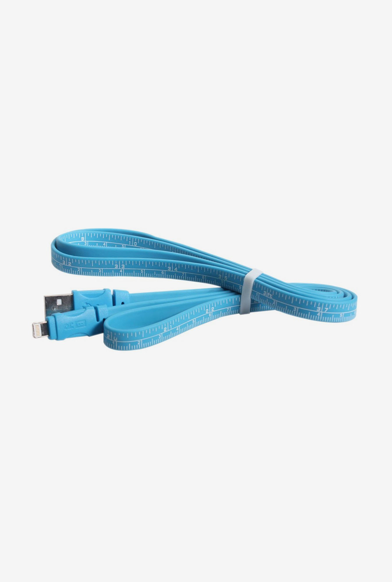 Callmate Data & Charging Ruler Cable for IPhone 5 Blue