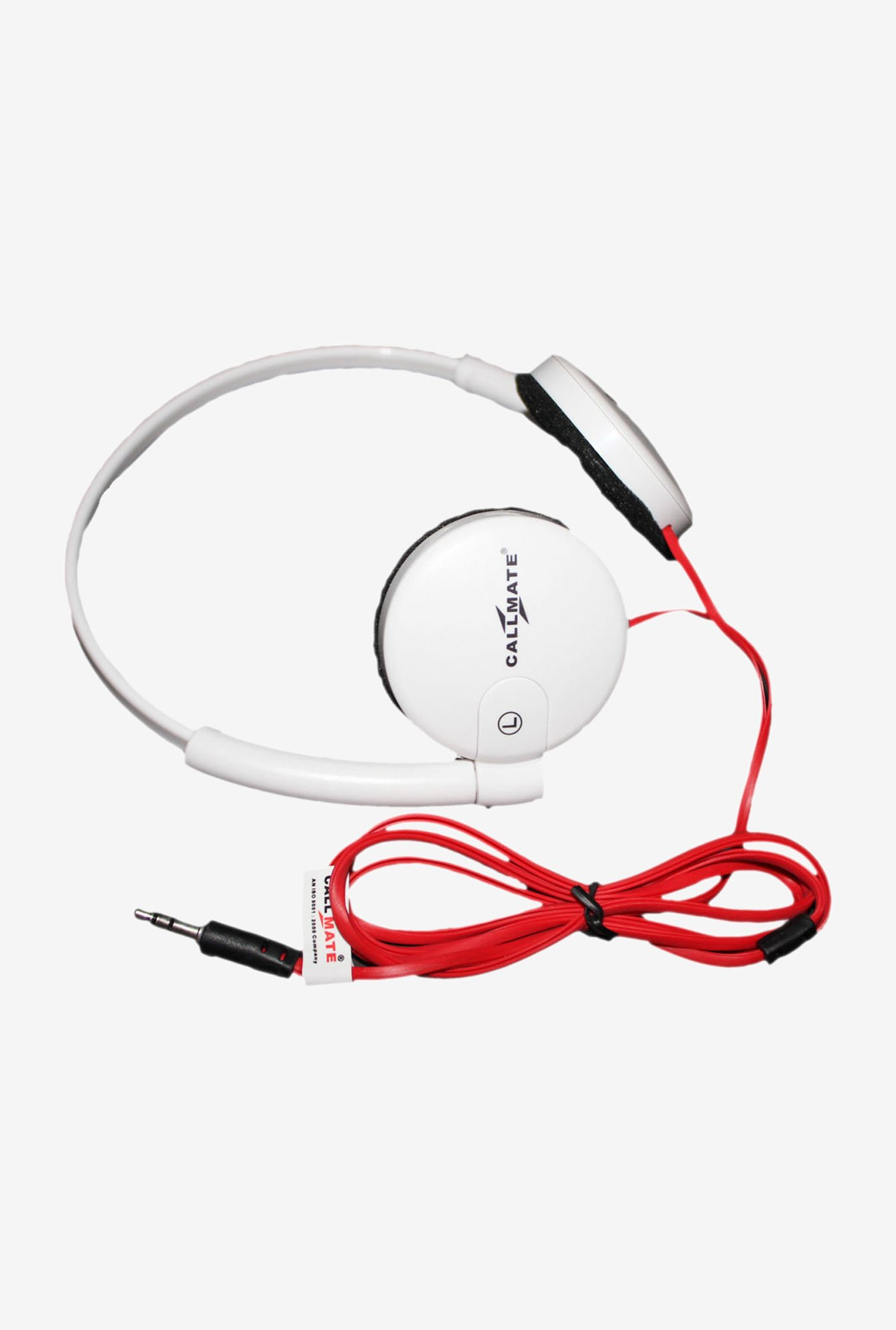 Callmate HPWWMWH Over-Ear Head Phone White