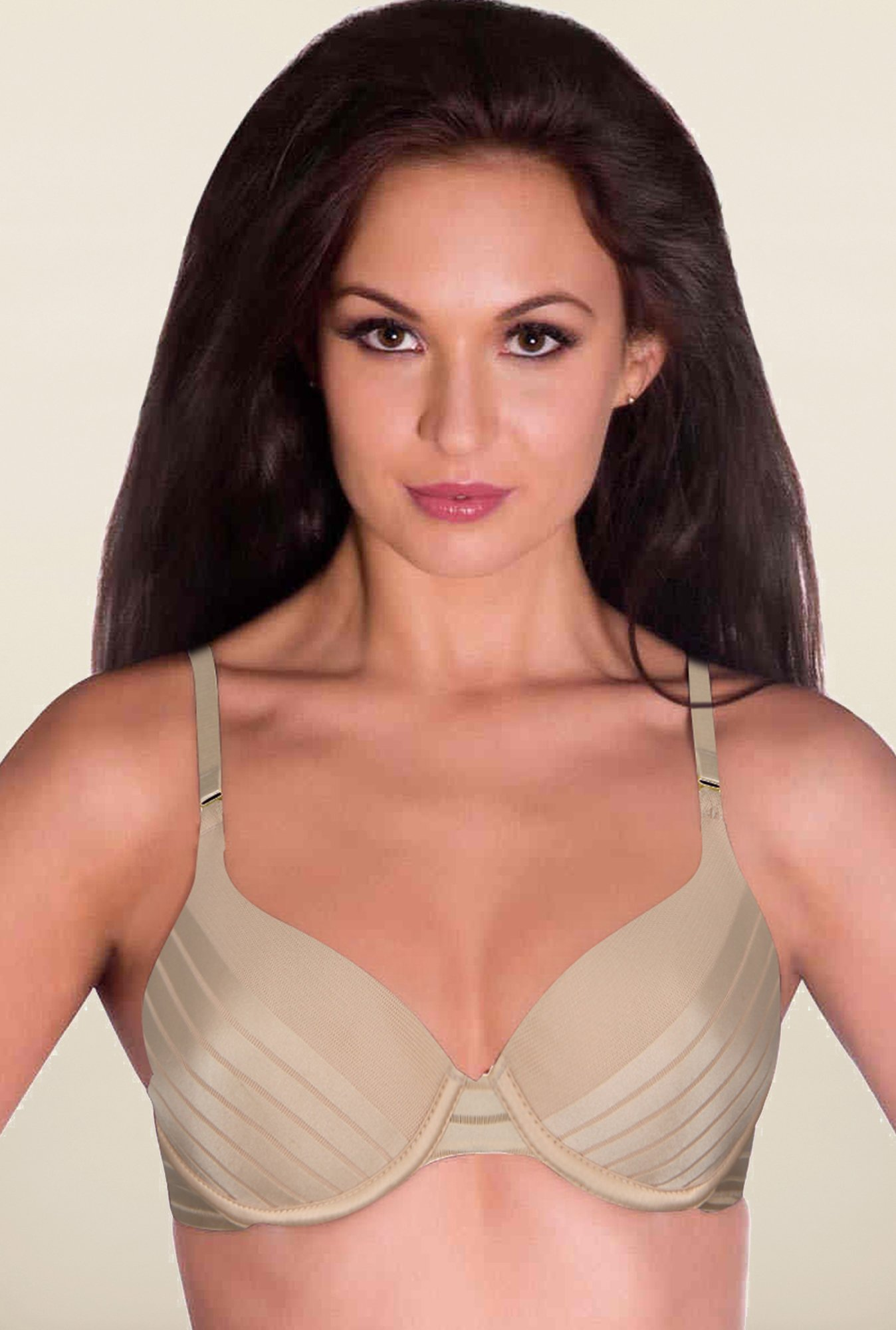Amante Nude Solid Padded Bra