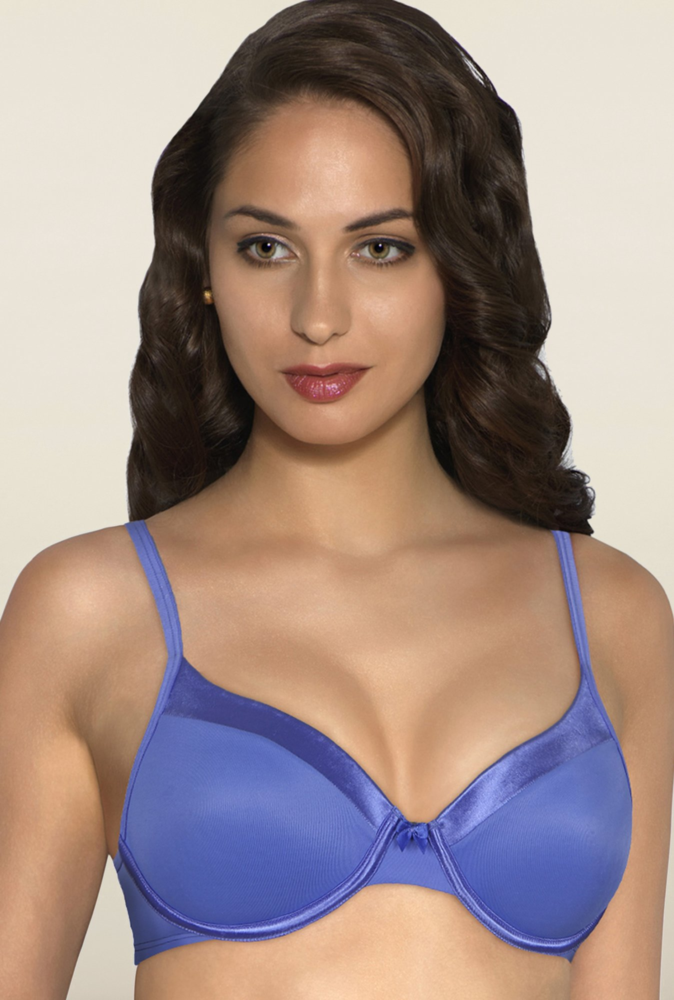 Amante Blue Underwired Padded Bra