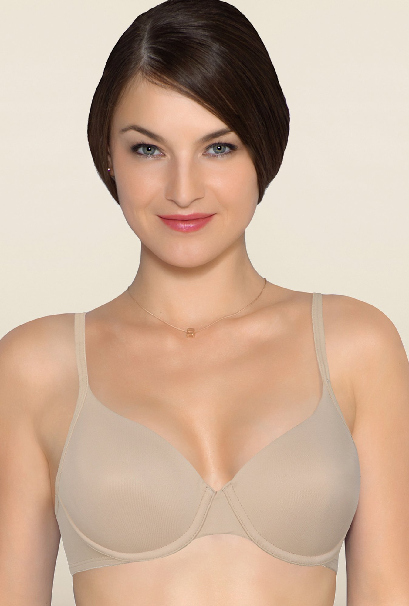 Amante Nude Underwired Seamless Bra