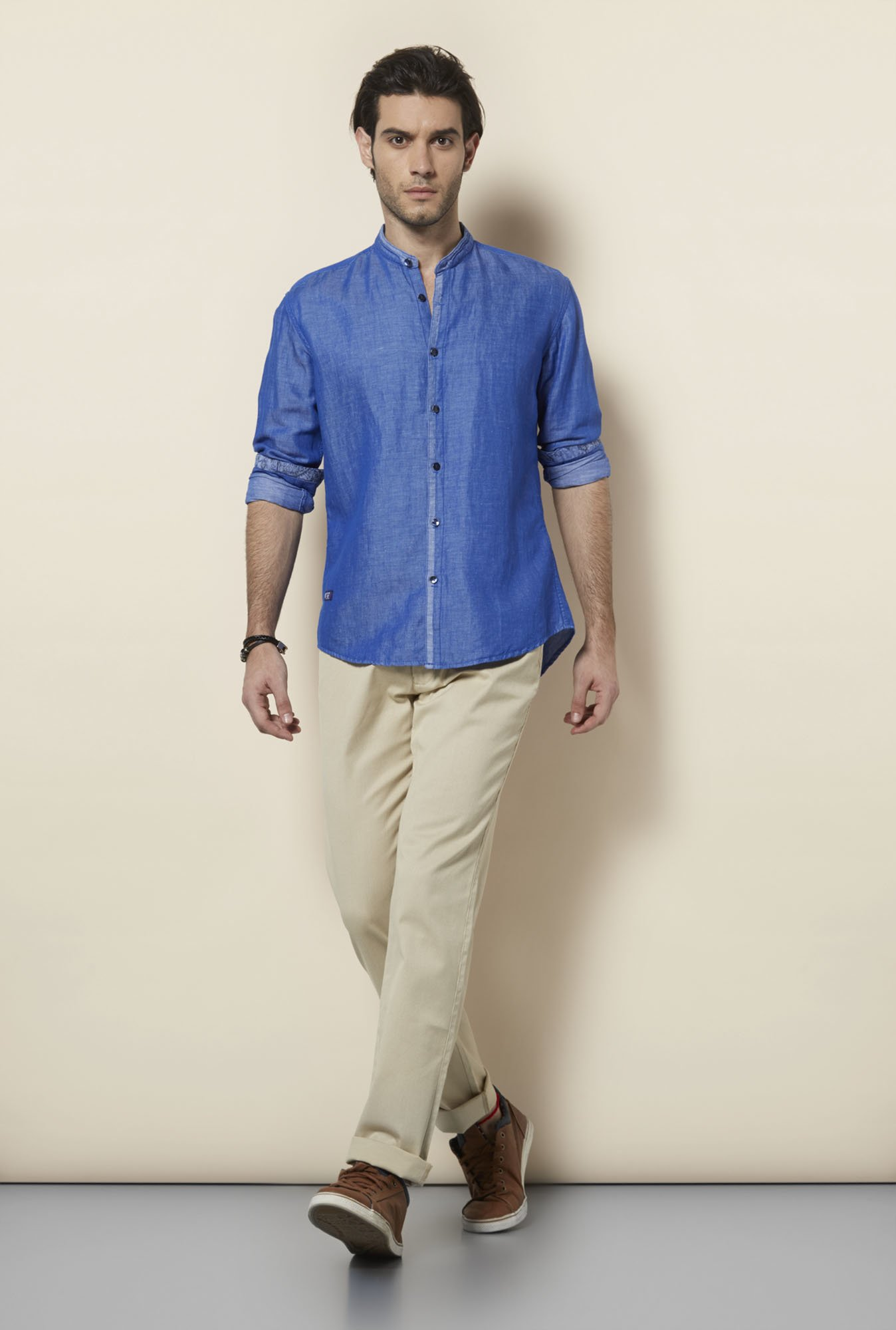Killer Royal Blue Casual Shirt