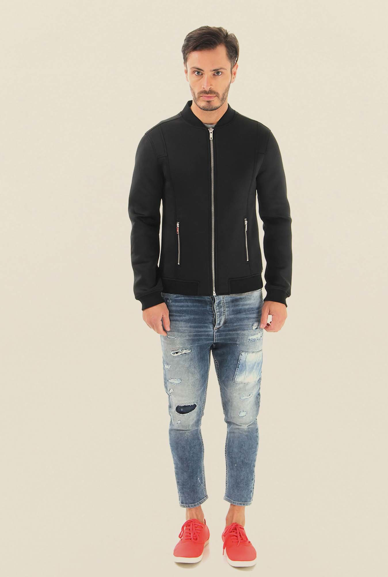Jack & Jones Blue Acid Washed Jeans