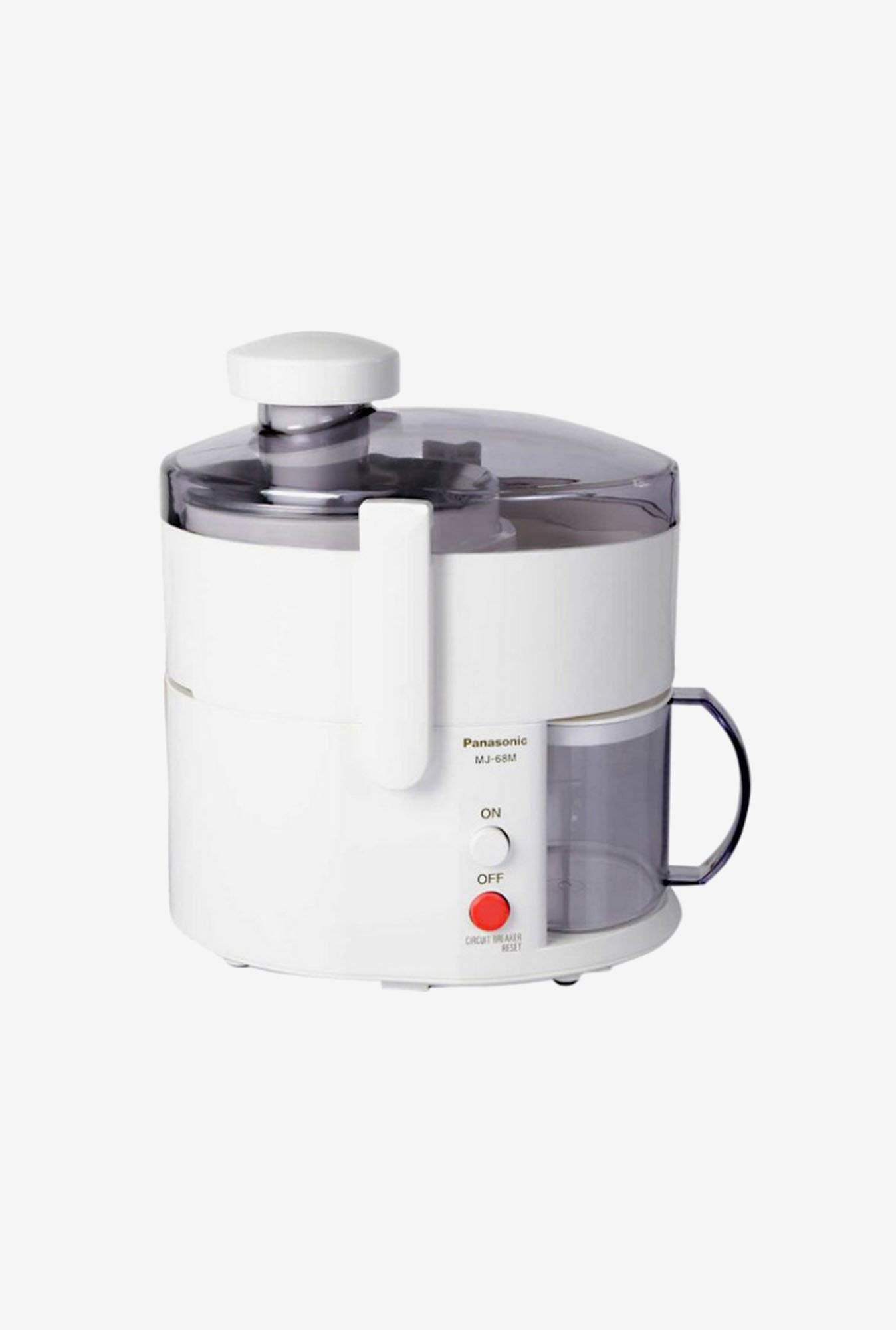 Panasonic MJ-68M Centrifugal Juicer with Stainless Steel Blades White
