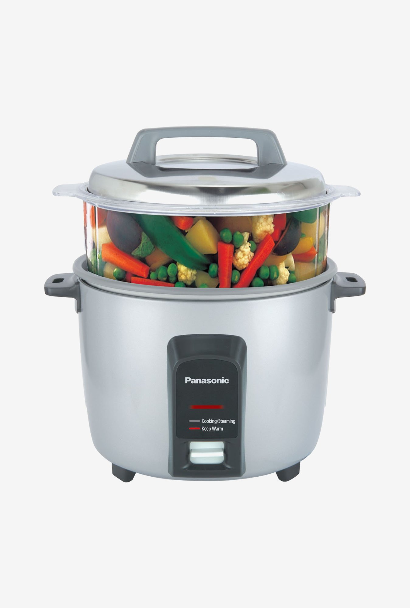 Panasonic SR-Y18FHS 1.8 L 660 W Automatic Cooker Metallic Silver