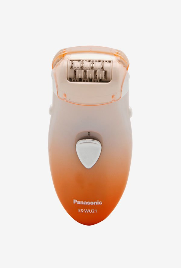 Panasonic ES-WU21 Epilator White & Orange