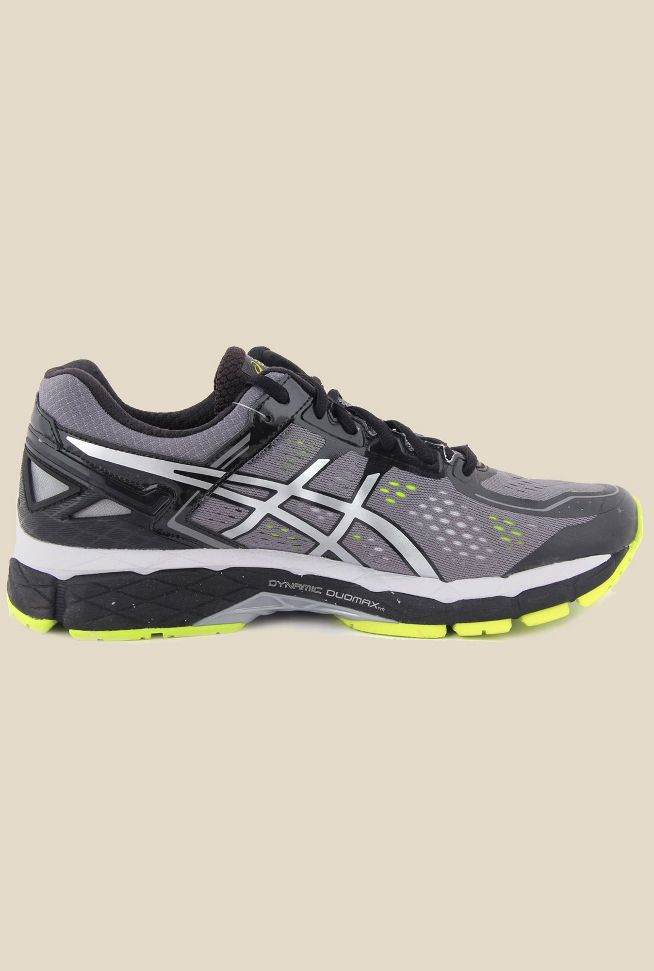 Asics Charcoal Running Shoes