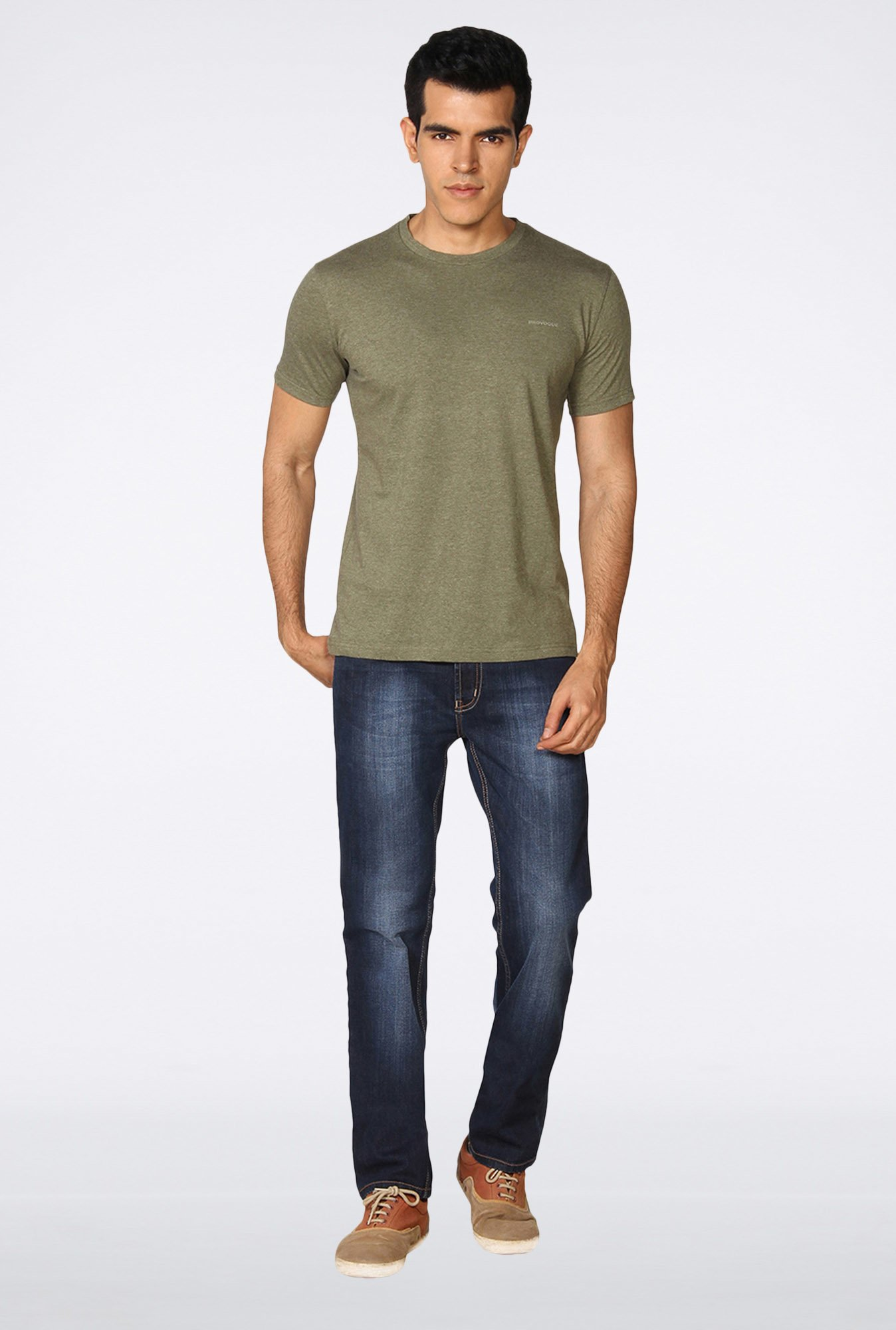 Provogue Moss Green T-Shirt