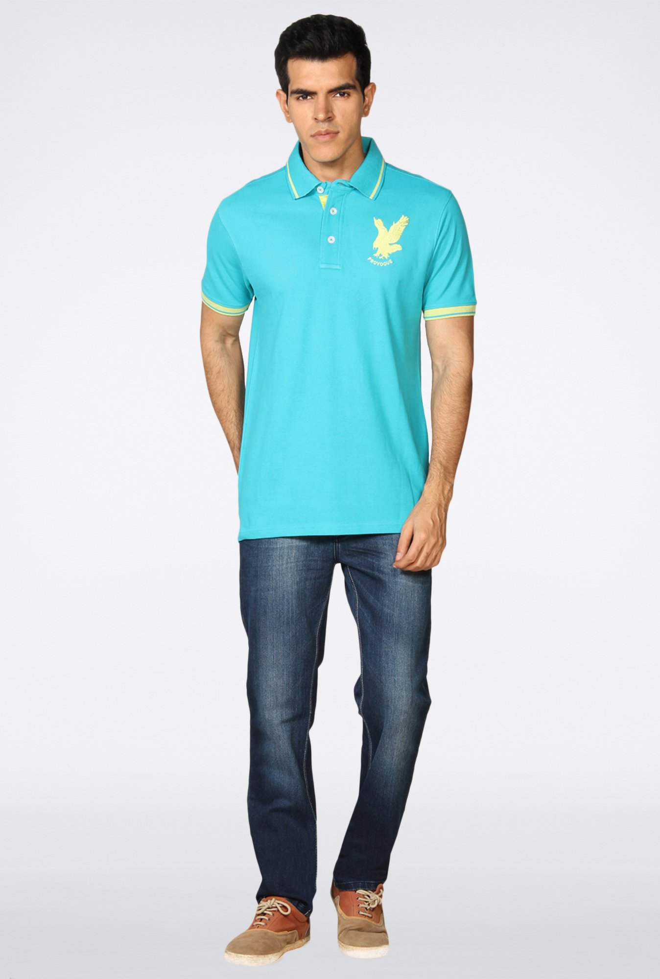 Provogue Aqua Polo T-Shirt