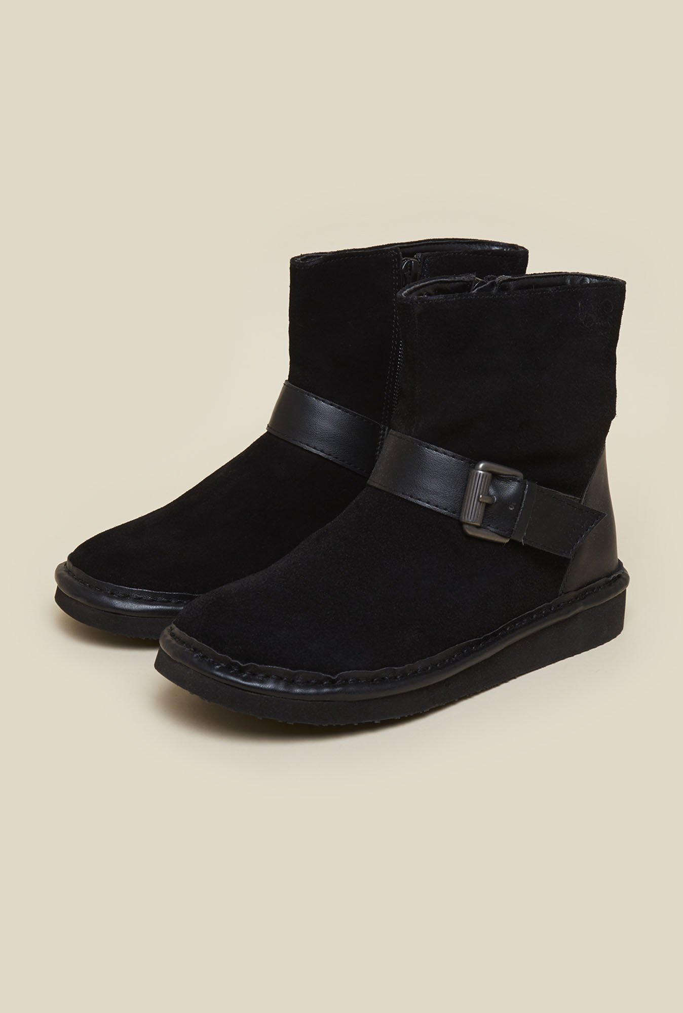 La Briza Black Ankle Length Snow Boots