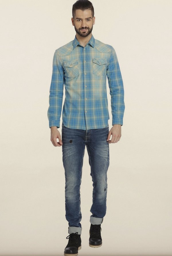Jack & Jones Blue Casual Shirt