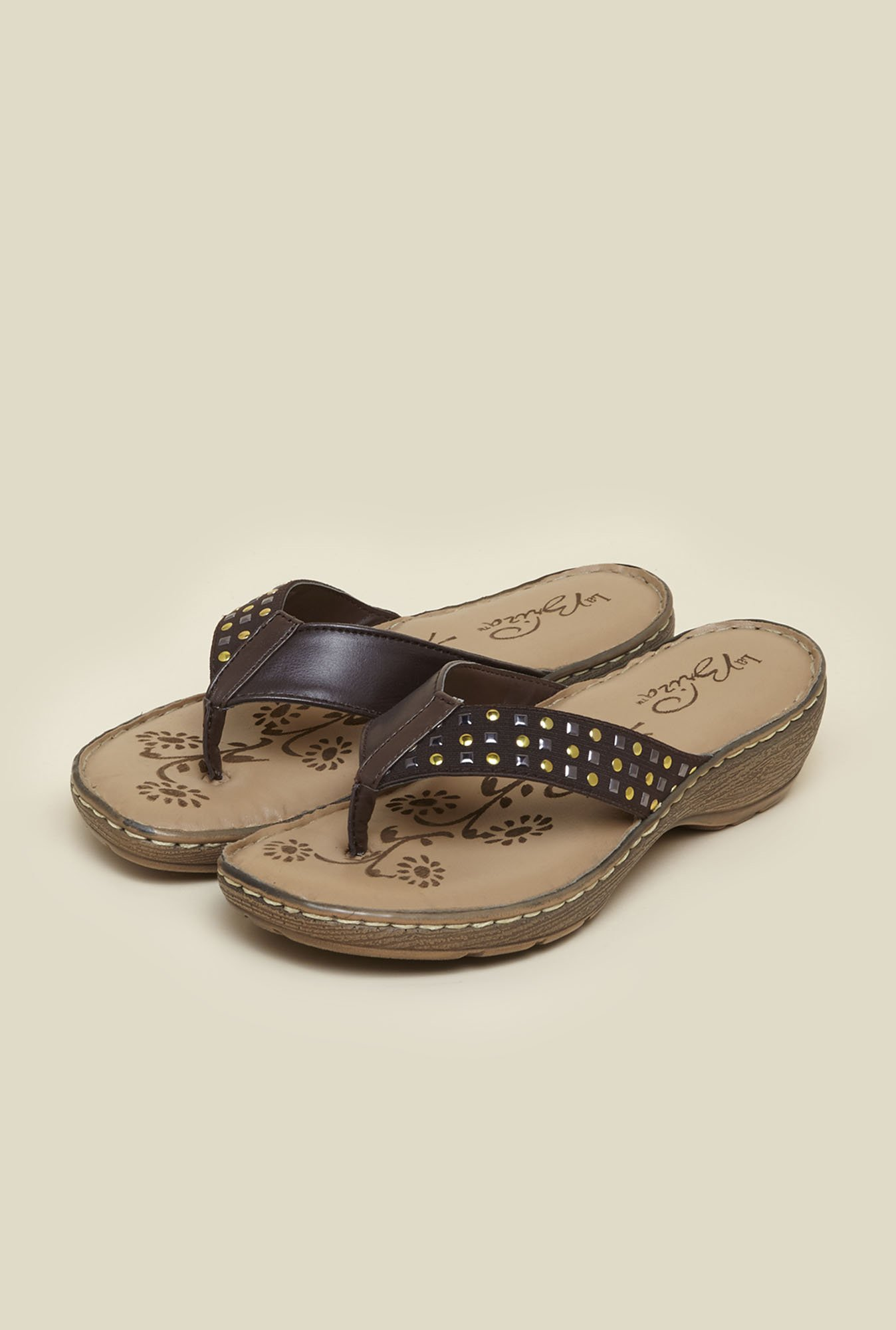 La Briza Brown Wedges