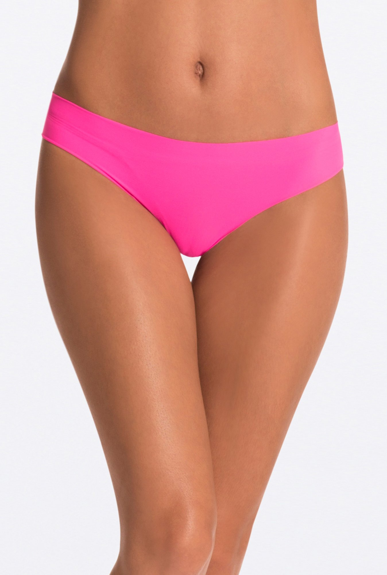 Pretty Secrets Neon Pink Invisi-Hipster Panty