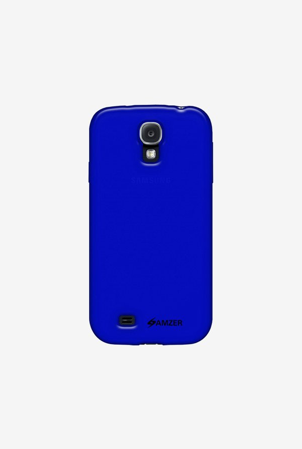Amzer Soft Gel TPU Case Dark Blue for Samsung S4