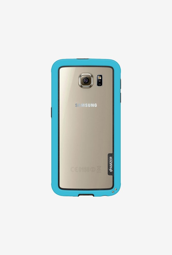 Amzer Border Case Blue for Samsung S6