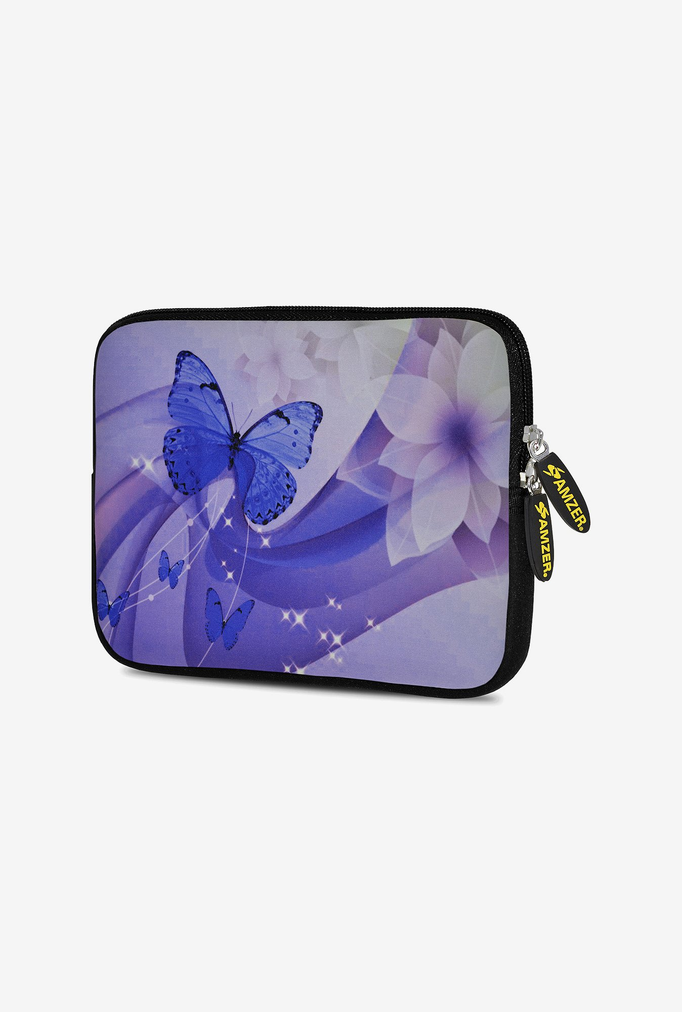 Amzer 7.75 Inch Neoprene Sleeve - Butterfly Swish