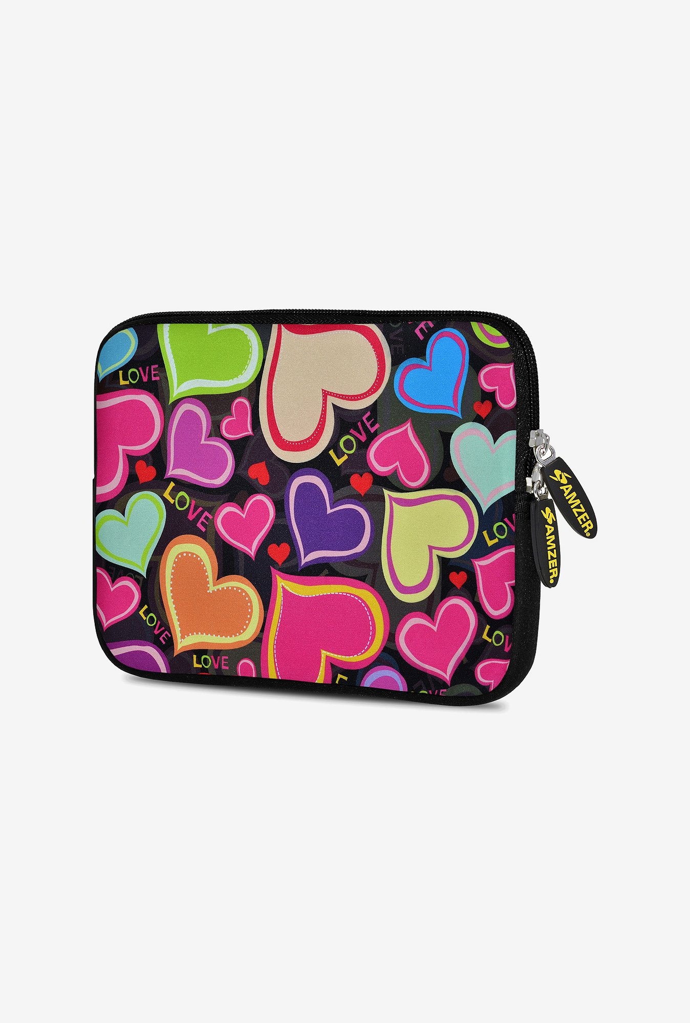 Amzer 10.5 Inch Neoprene Sleeve - Heart Gather