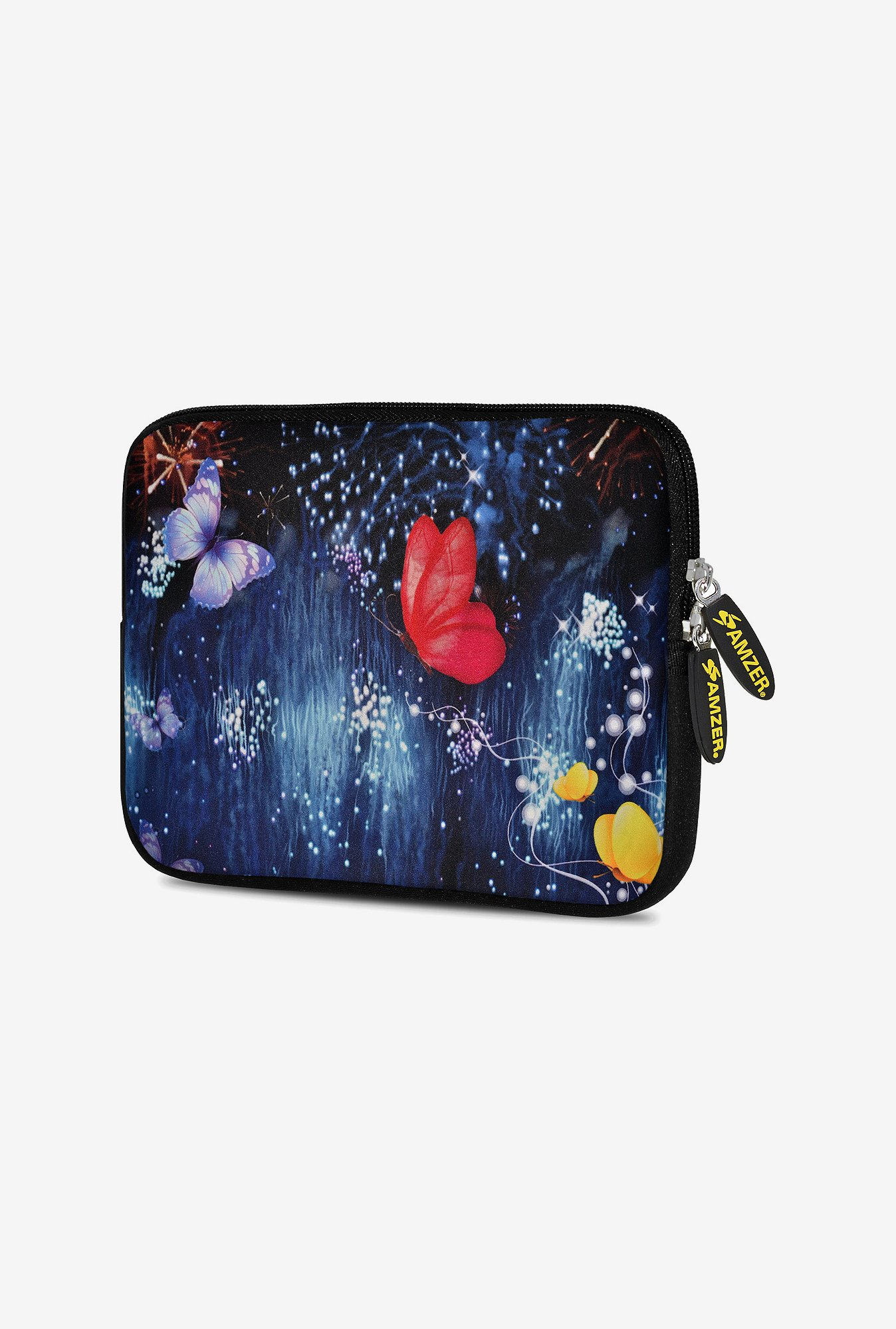 Amzer 7.75 Inch Neoprene Sleeve - Butterfly Dream