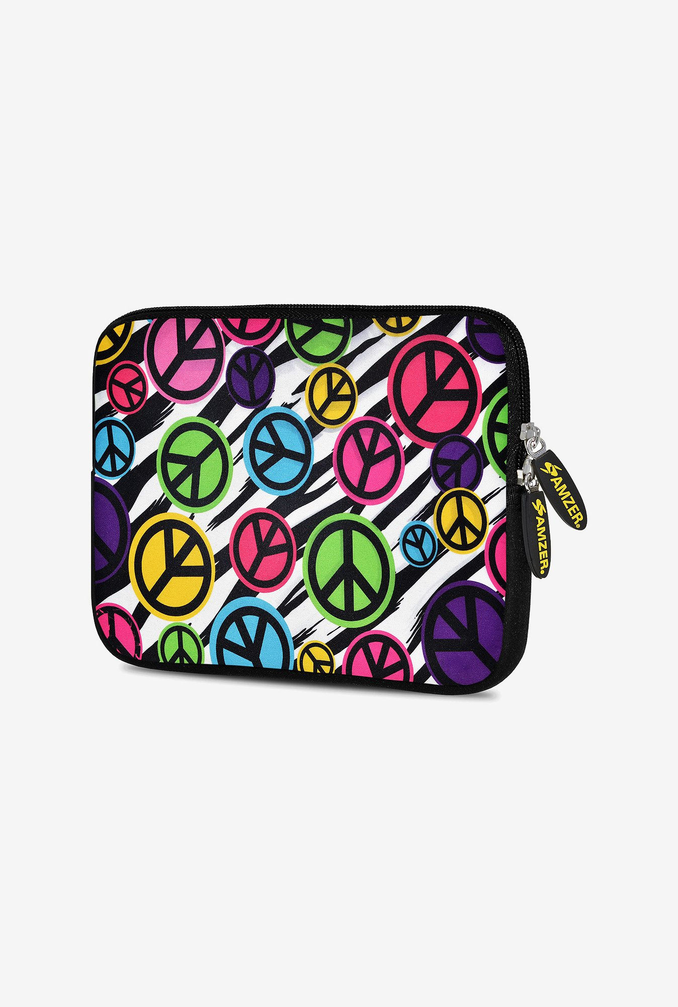 Amzer 7.75 Inch Neoprene Sleeve - Peace United