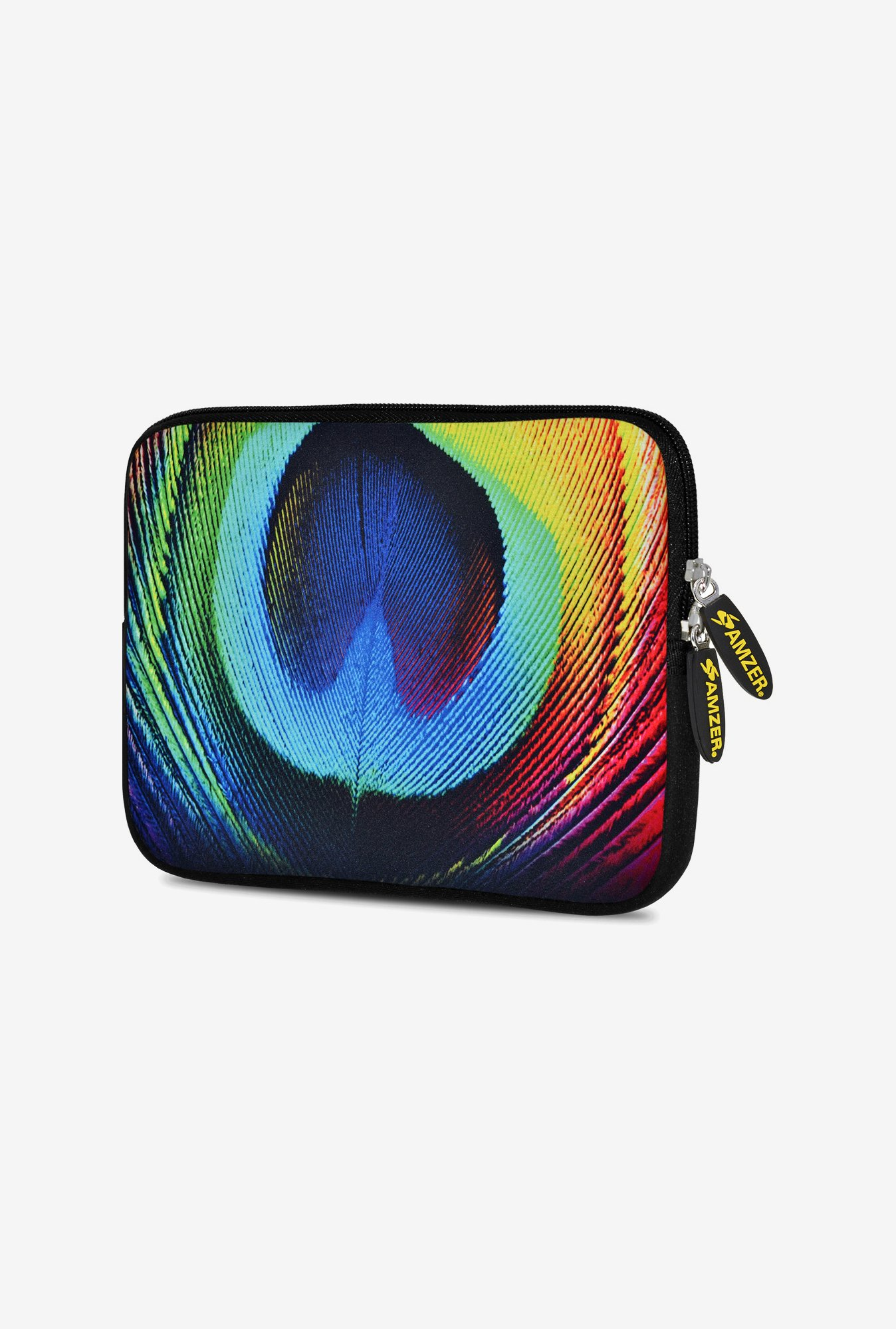 Amzer 10.5 Inch Neoprene Sleeve - Peacock Close