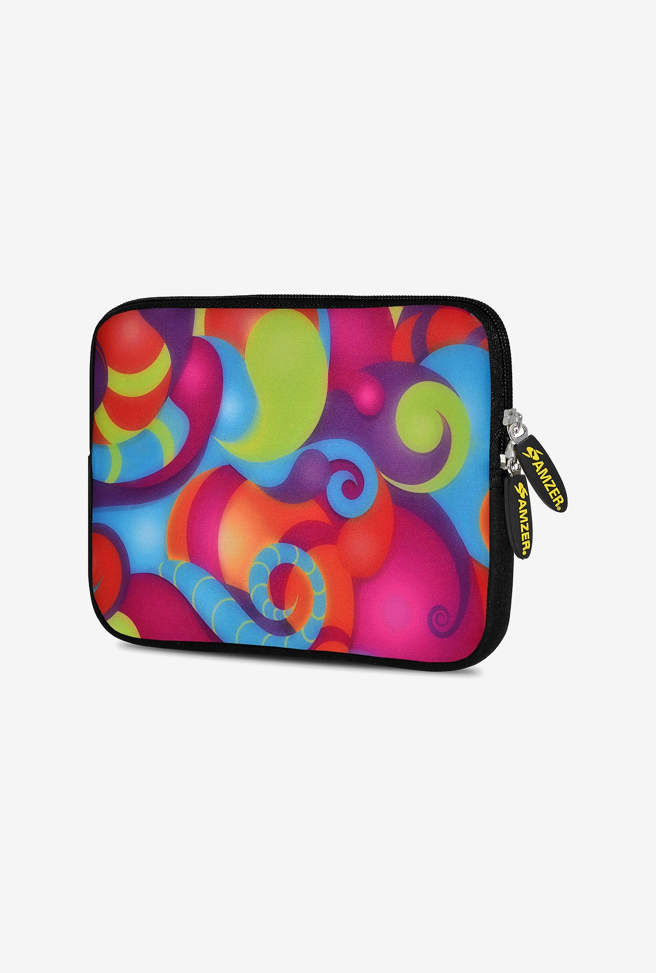 Amzer 7.75 Inch Neoprene Sleeve - Dancing Colours