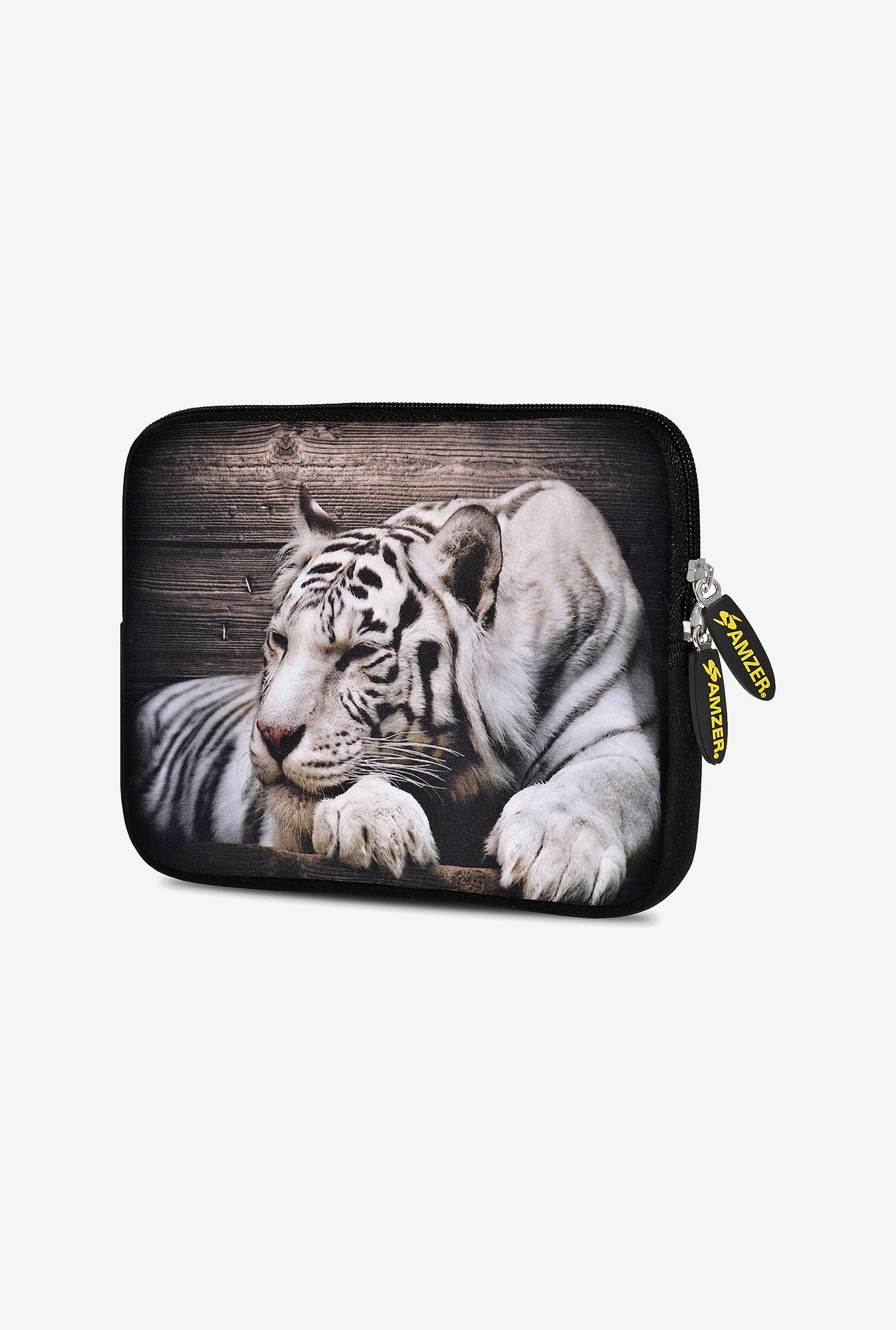 Amzer 7.75 Inch Neoprene Sleeve - Tiger Thoughts