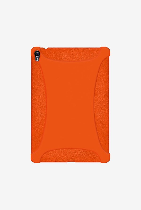 Amzer Silicone Skin Jelly Case Orange for Nexus 9