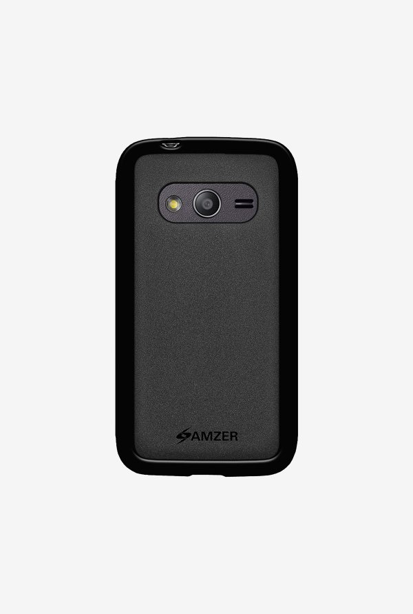 Amzer Pudding TPU Case Black for Samsung Ace 4