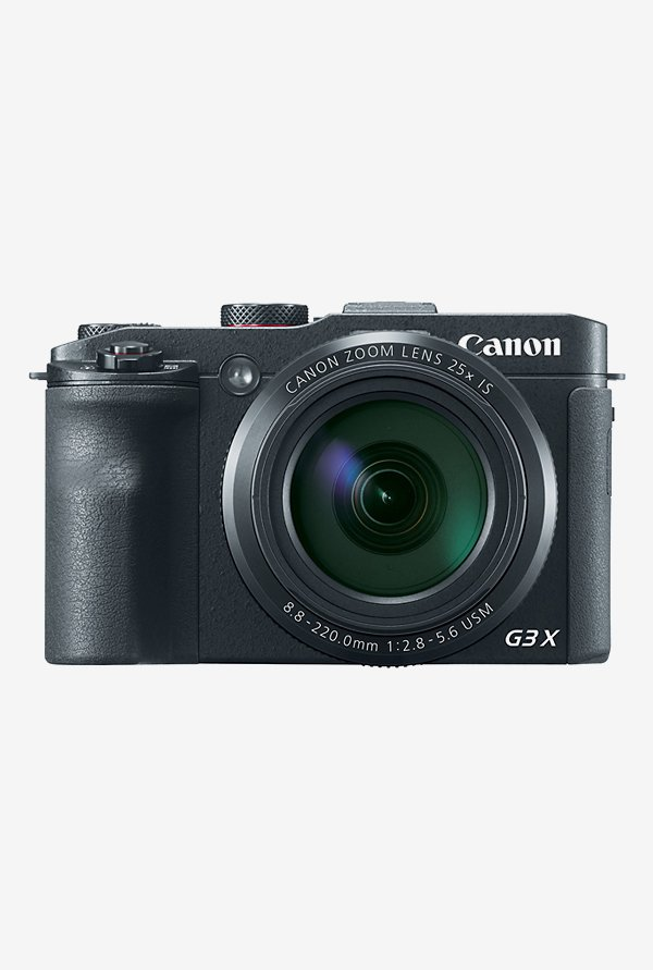 Canon PowerShot G3X Point & Shoot Camera Black
