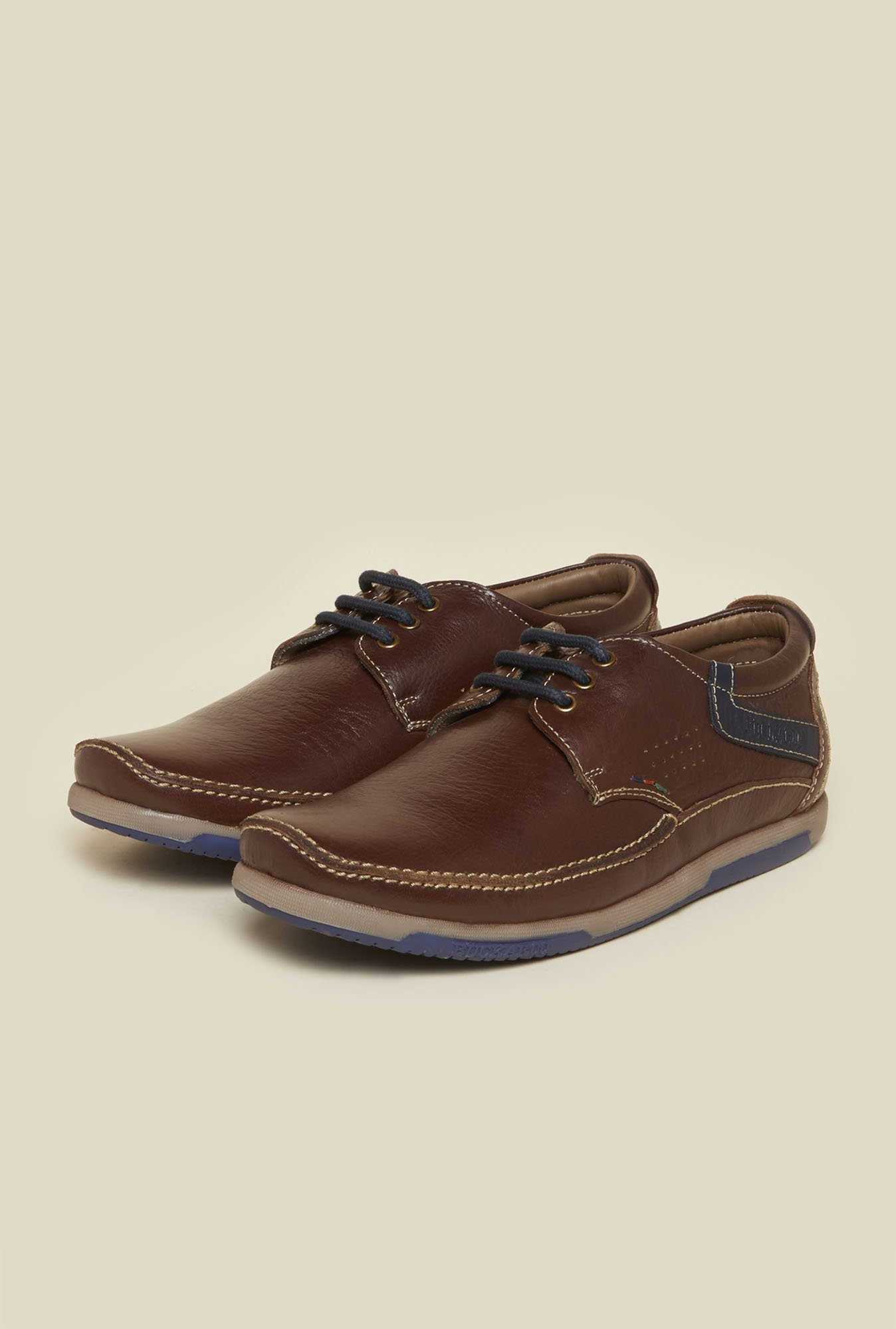 Buckaroo Rafael Brown Derby Shoes