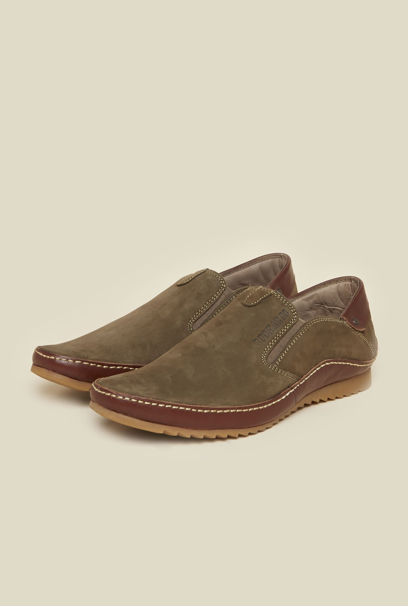 Buckaroo Destin Olive Loafers