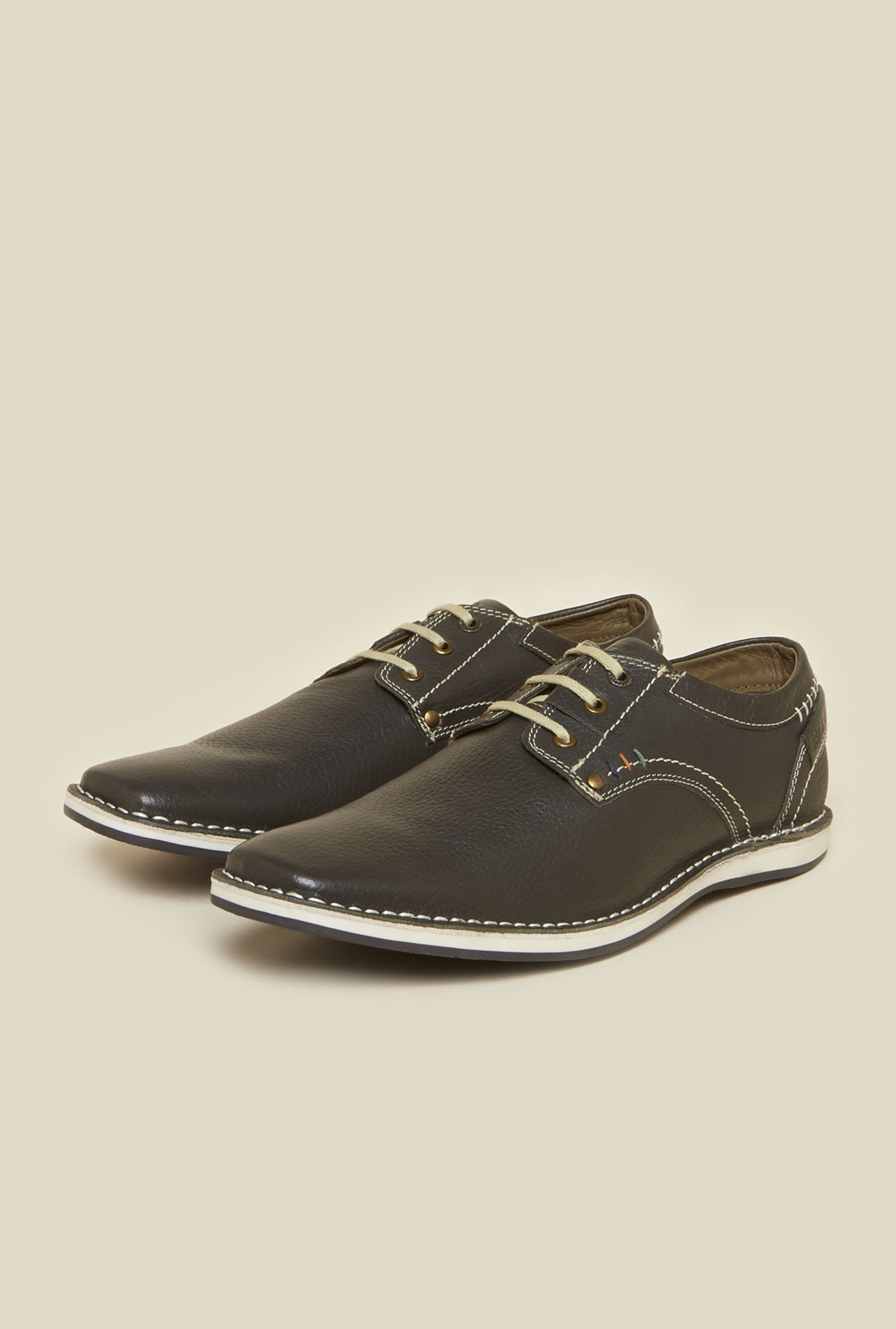 Buckaroo Roldanto Olive Derby Shoes