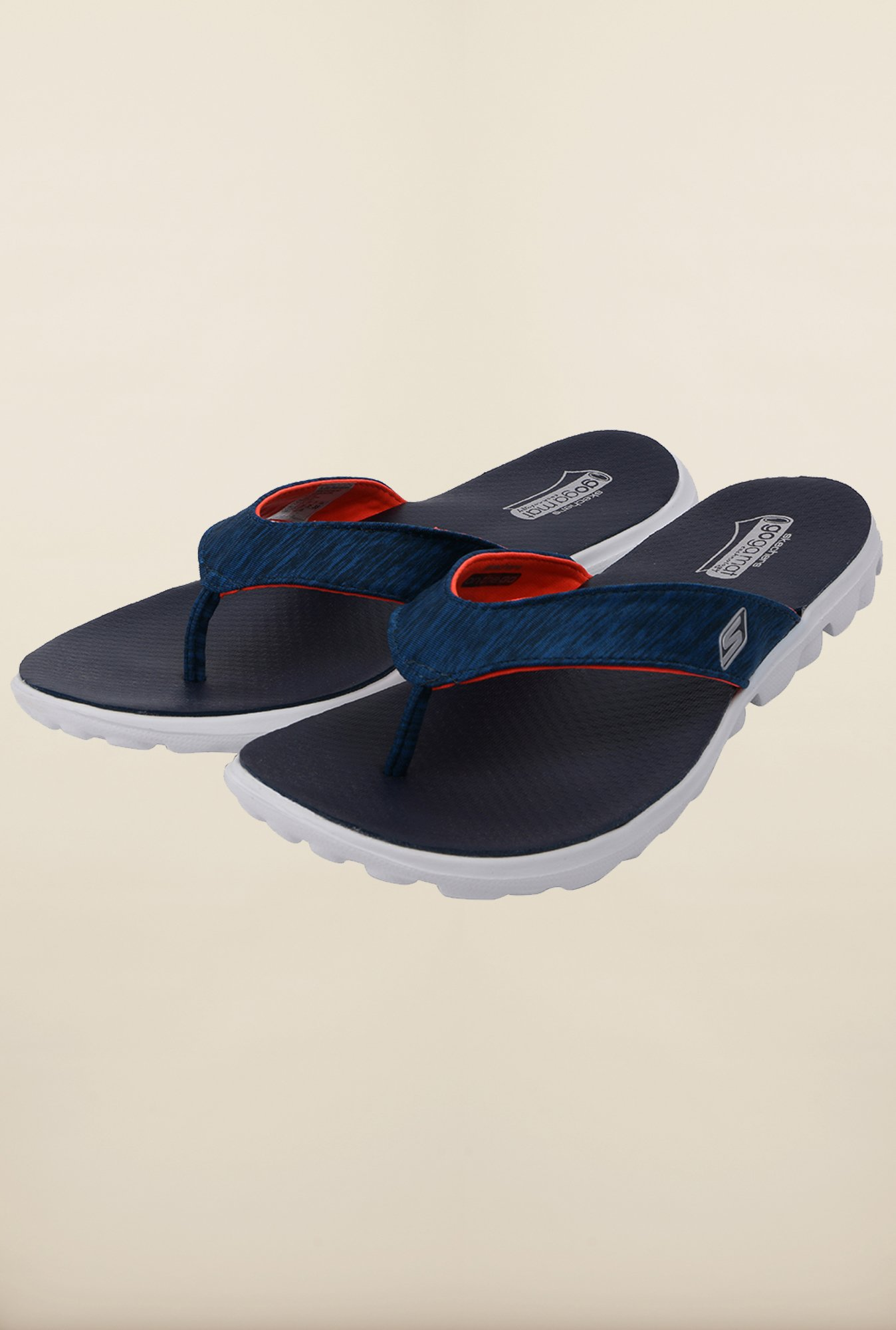 Skechers On-The-Go - Flow Navy Flip Flops