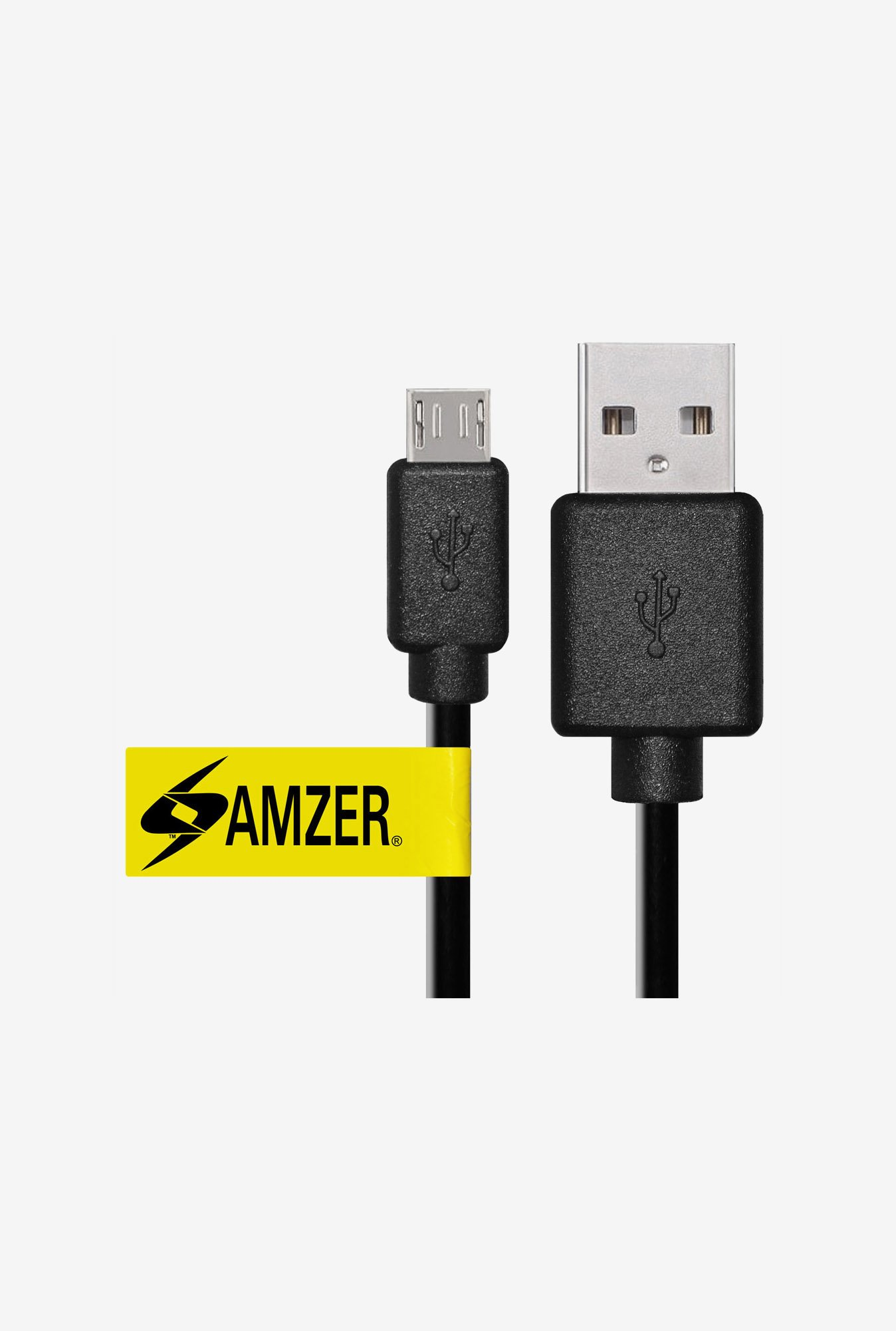 Amzer 3ft USB to Universal Micro USB Data Sync&Charge Cable