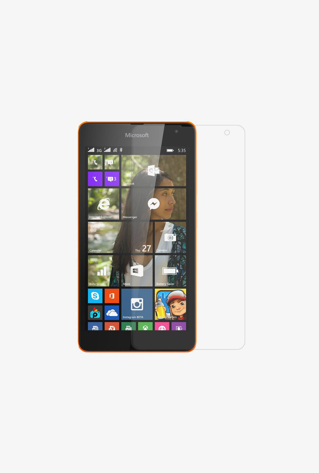 Amzer Kristal Clear Screen Protector for Microsoft Lumia 535