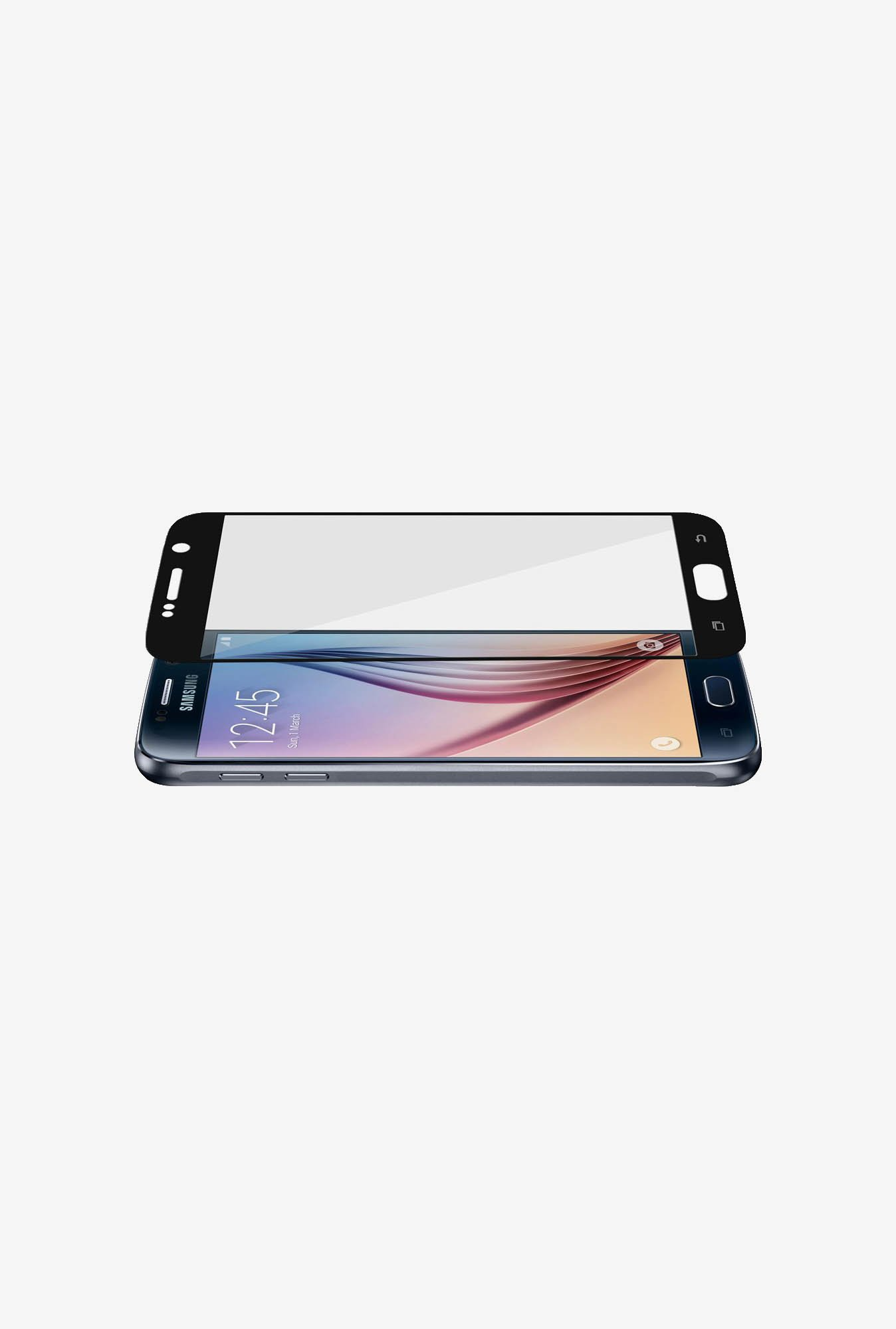Amzer Kristal Tempered Glass Black for Samsung S6