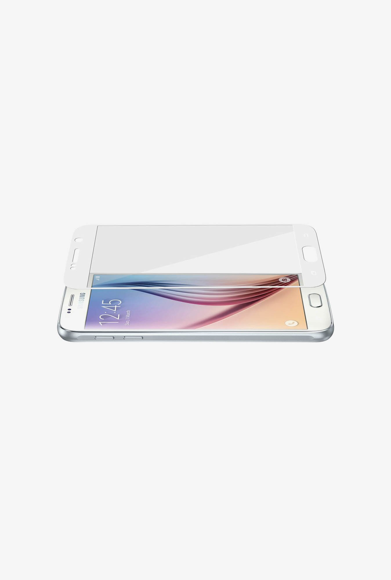 Amzer Kristal Tempered Glass White for Samsung S6