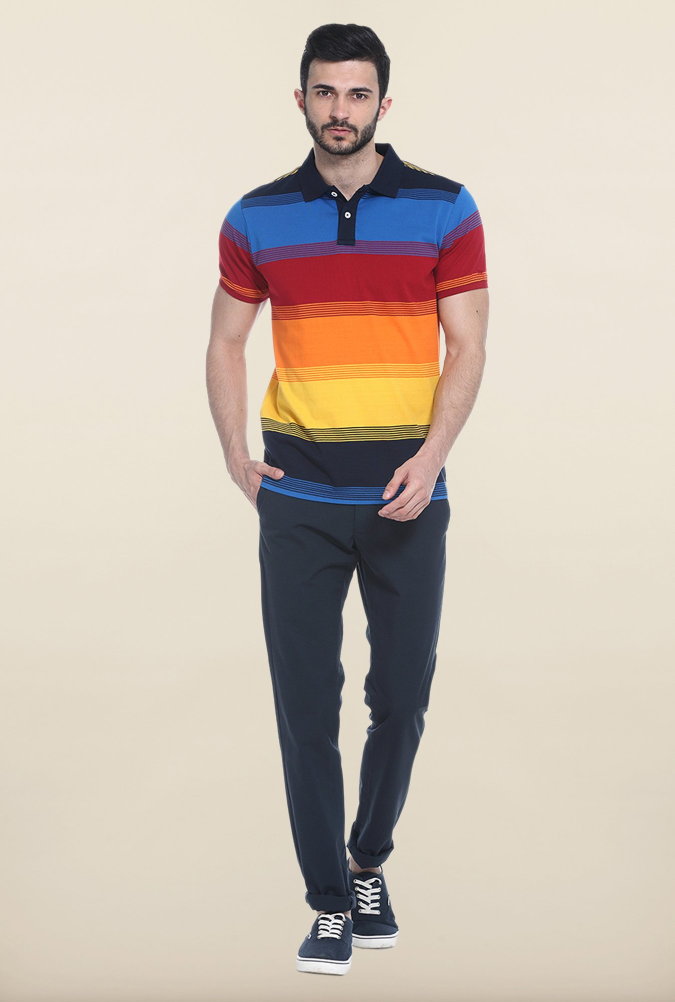 Basics Multicolor Polo T-Shirt