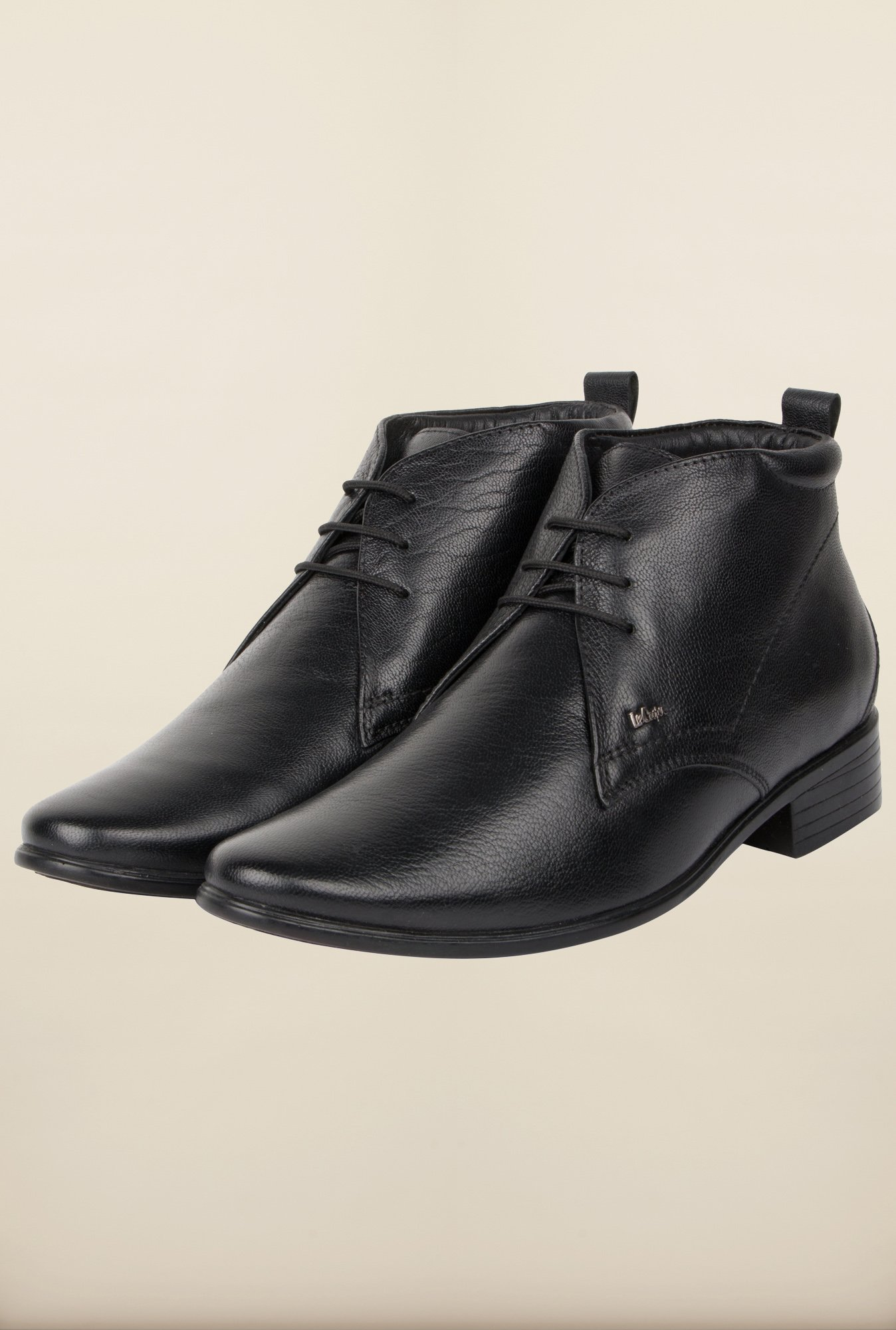 Lee Cooper Black Chukka Formal Shoes