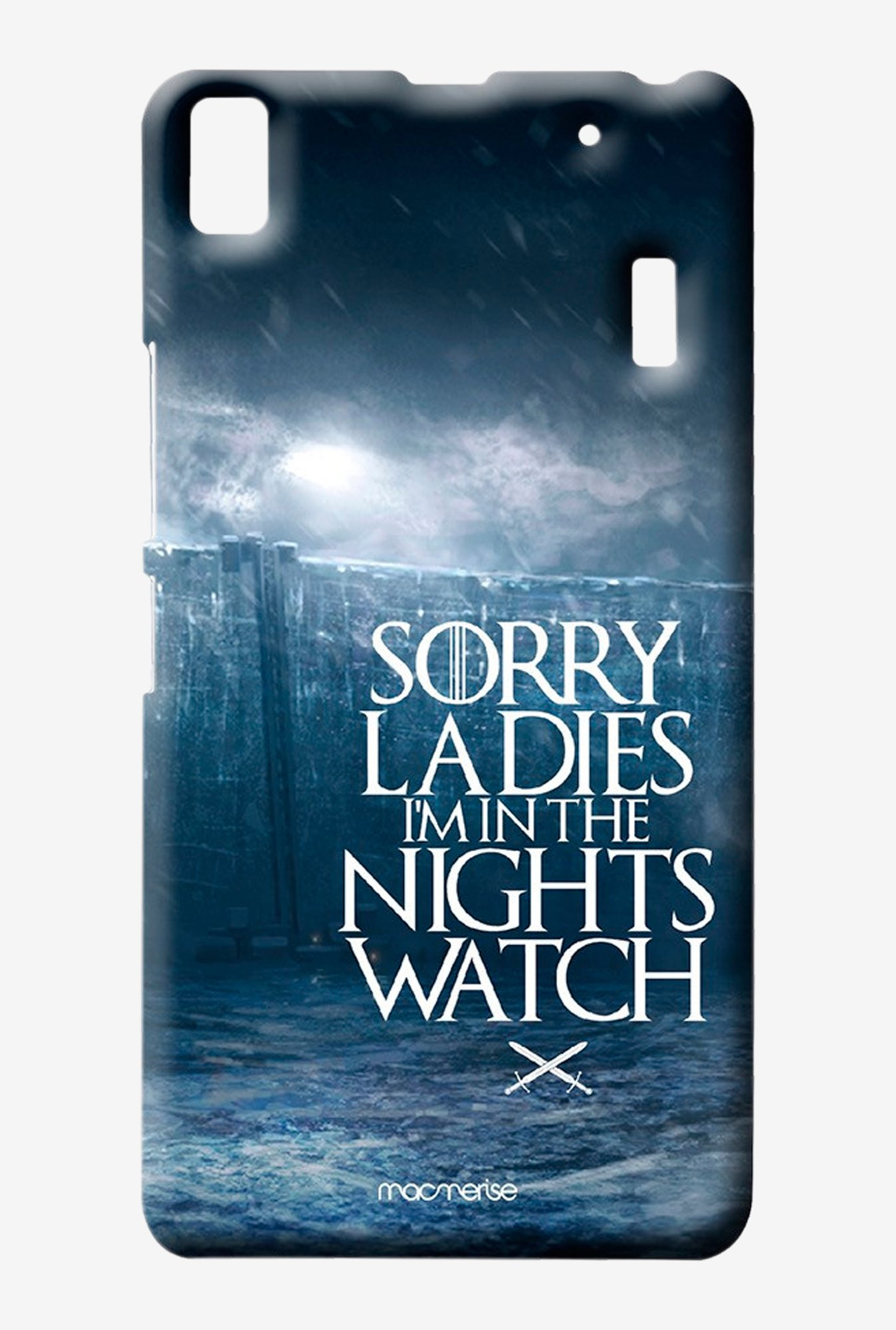 Macmerise Nights Watch Sublime Case for Lenovo K3 Note
