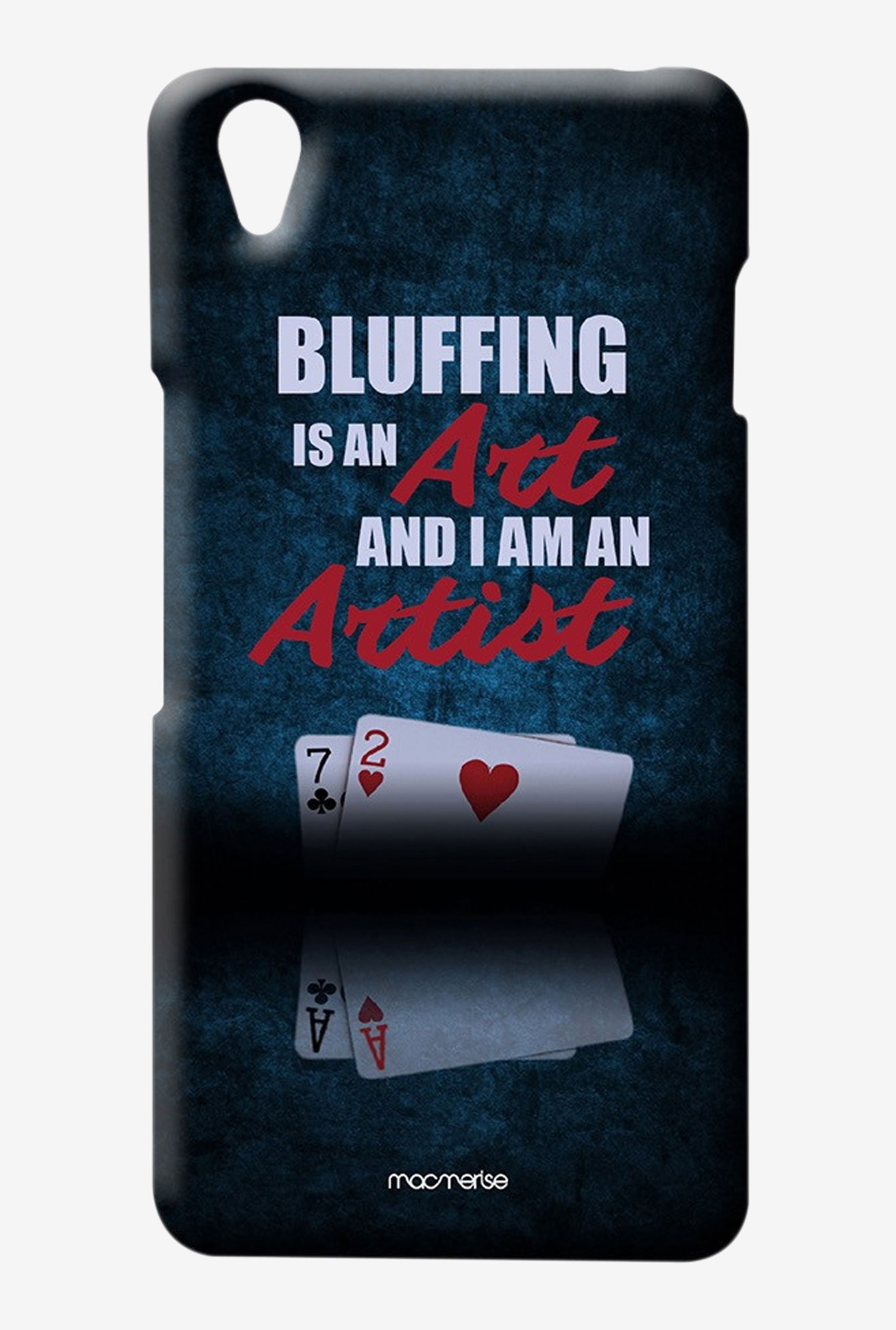 Macmerise Art of Bluffing Sublime Case for Oneplus X
