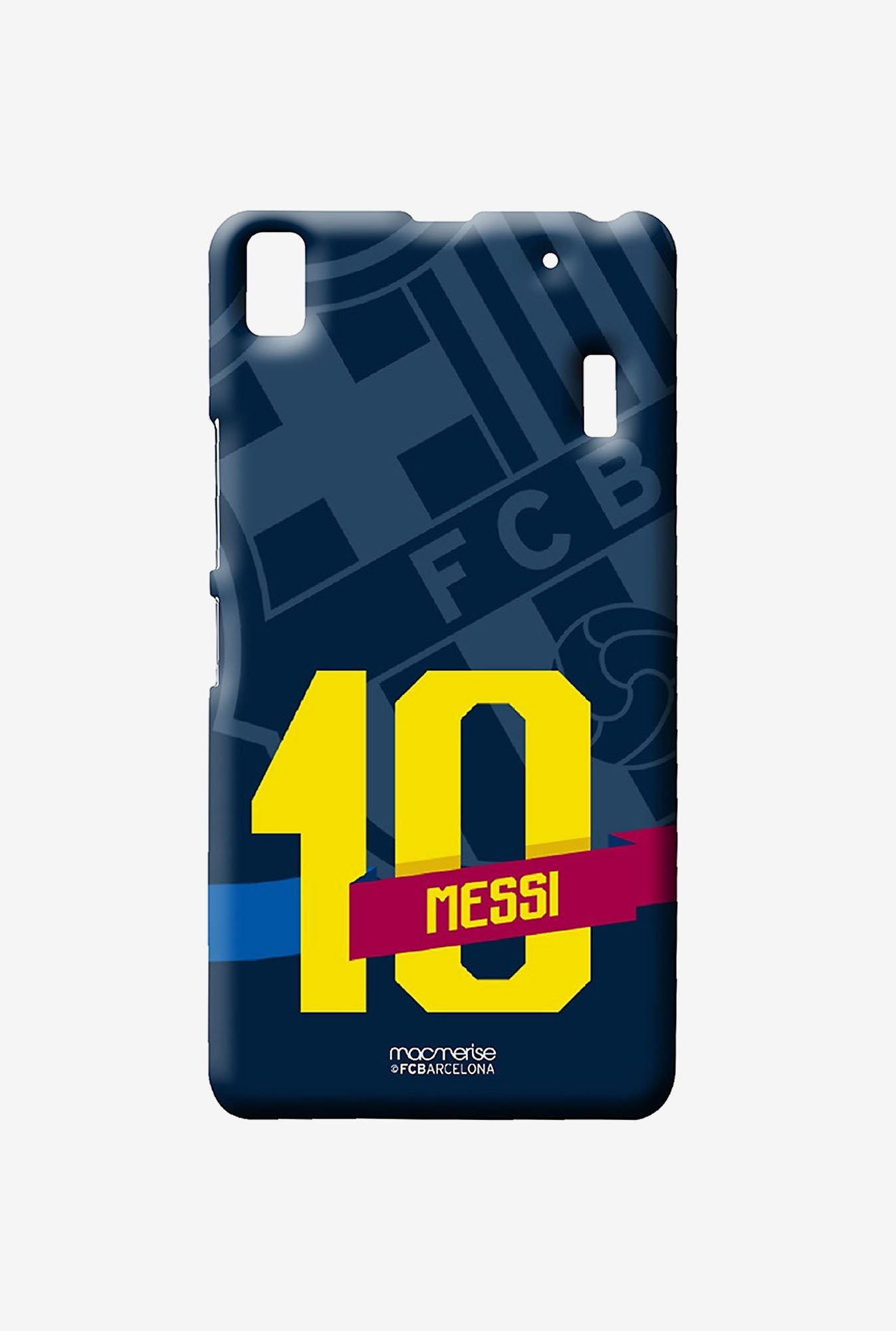 Macmerise Classic Messi Sublime Case for Lenovo K3 Note