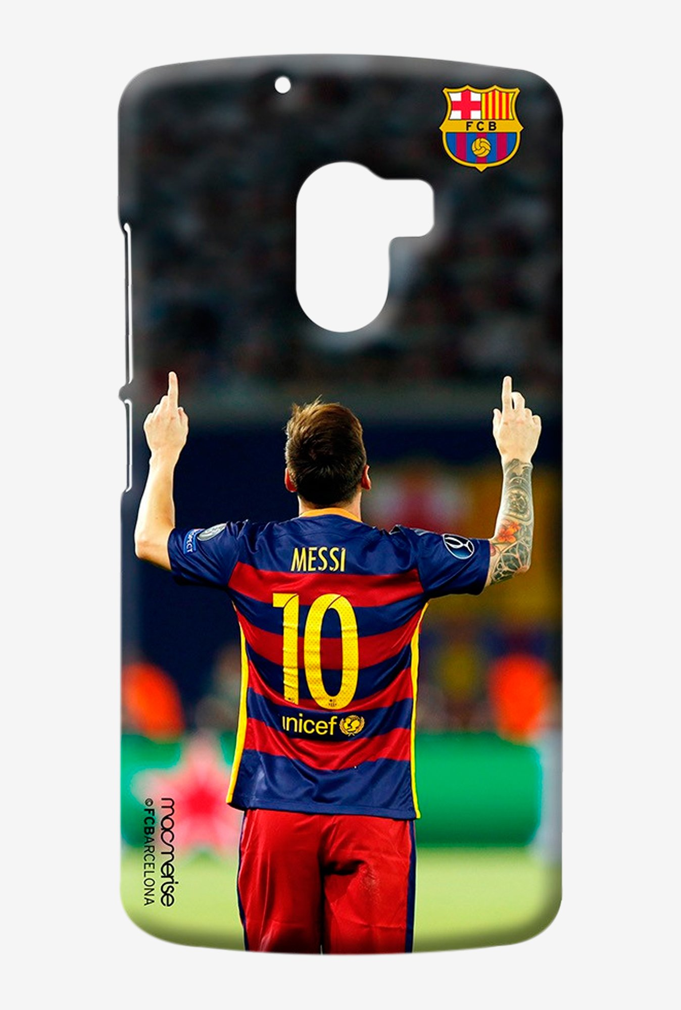 Macmerise Strike Messi Sublime Case for Lenovo K4 Note