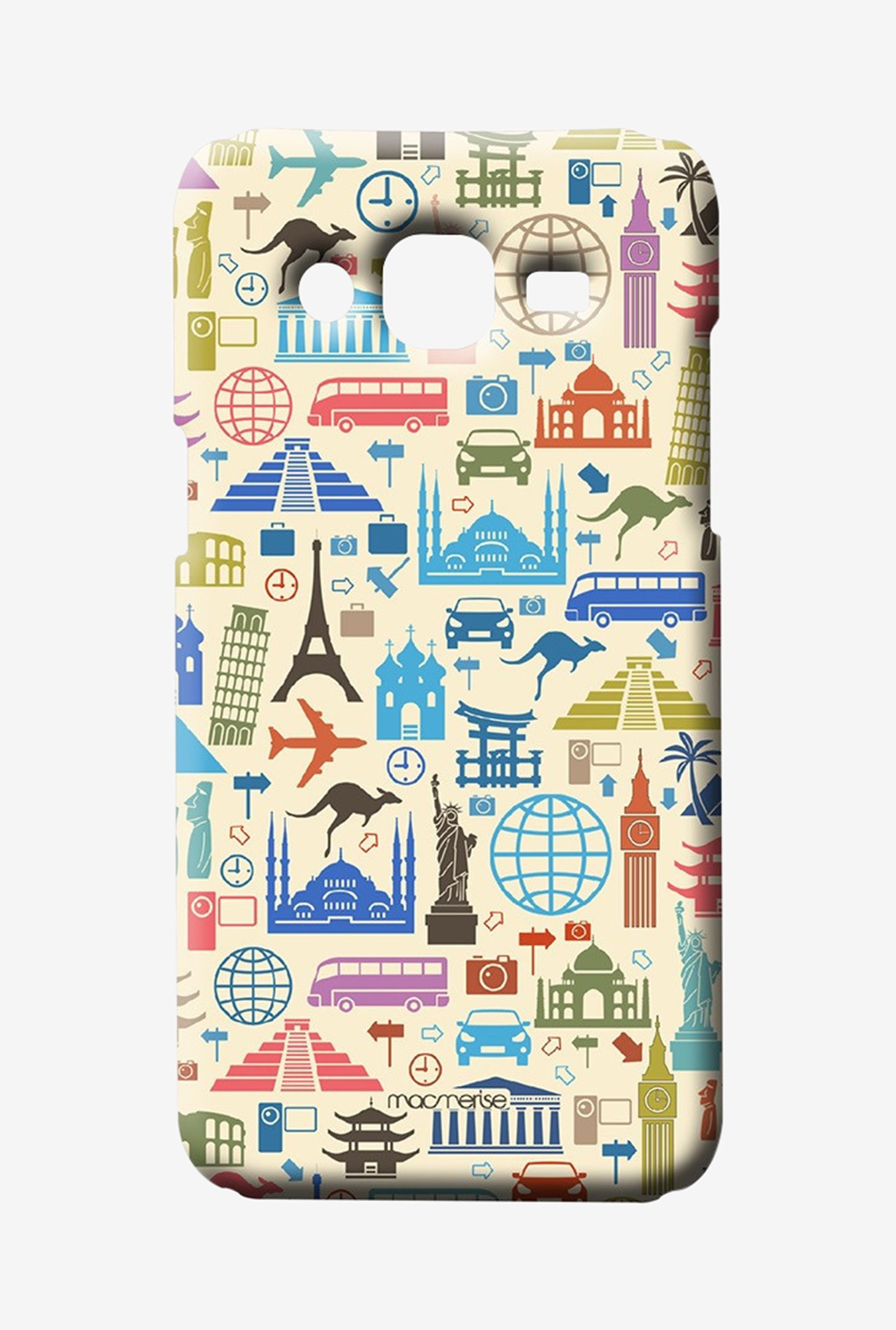 Macmerise Travel Lover Sublime Case for Samsung J7