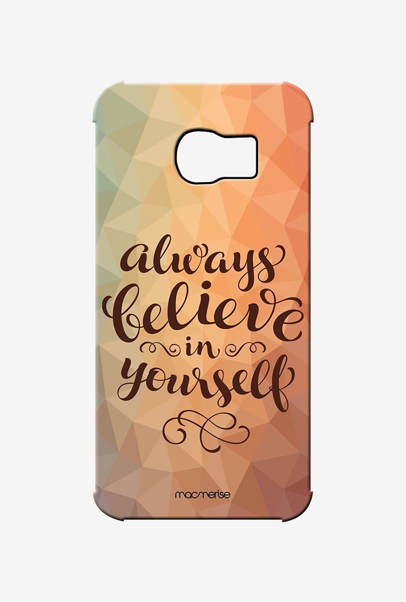 Macmerise Believe In Yourself Pro Case for Samsung S6 Edge
