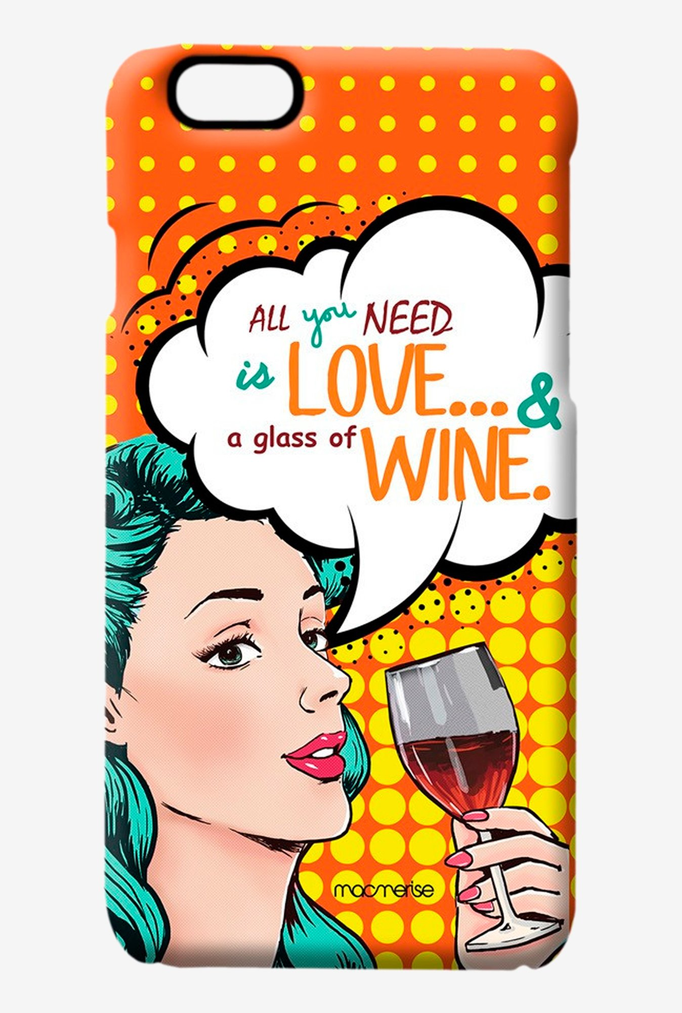 Macmerise Miss Wine Pro Case for iPhone 6S
